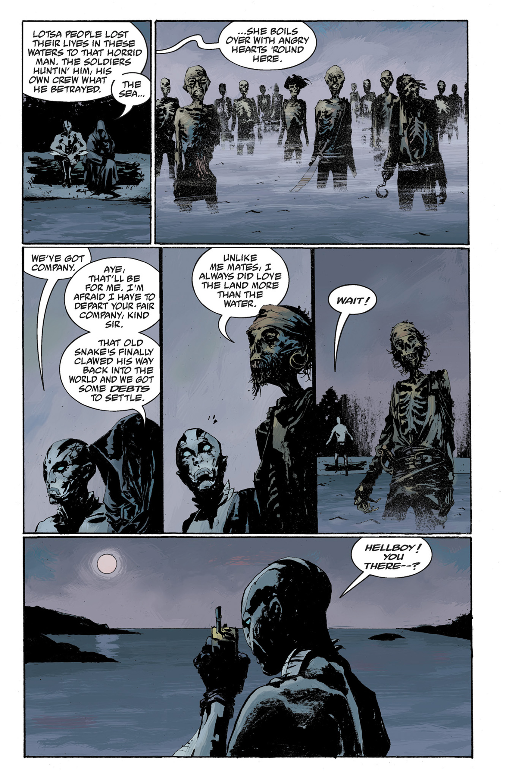 Read online Hellboy: The Crooked Man and Others comic -  Issue # TPB - 101