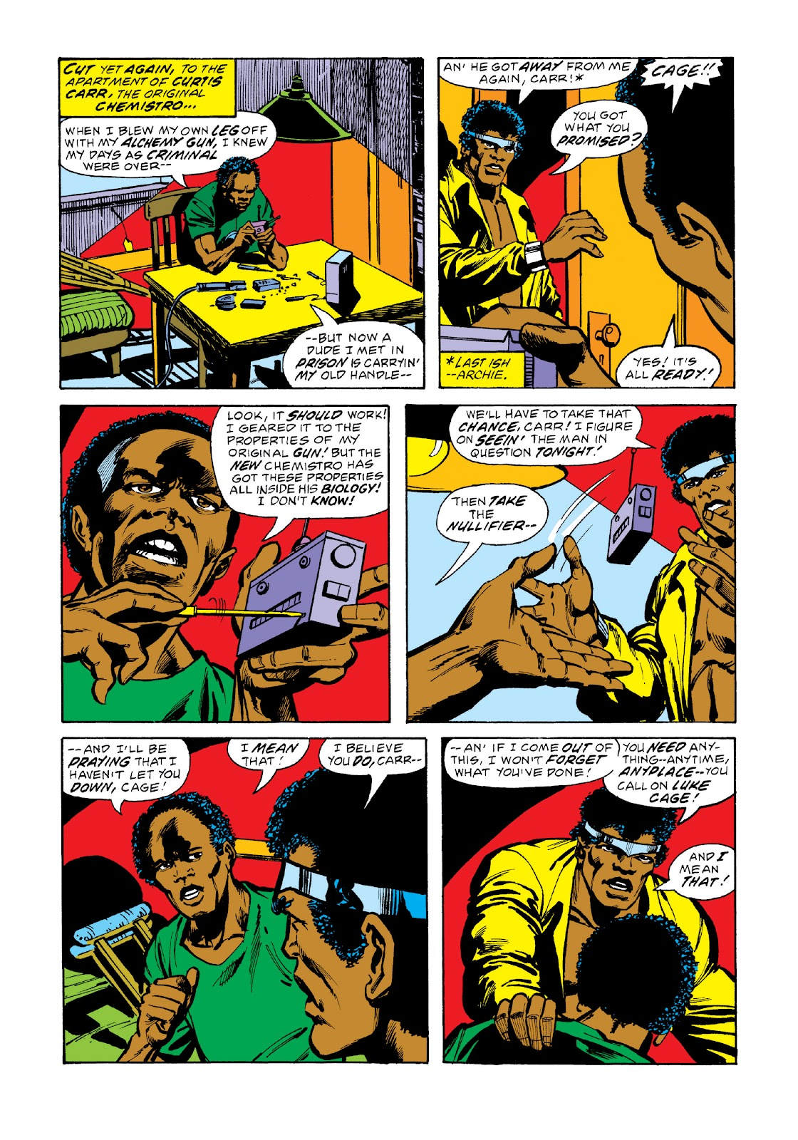 Read online Marvel Masterworks: Luke Cage, Power Man comic -  Issue # TPB 3 (Part 2) - 65