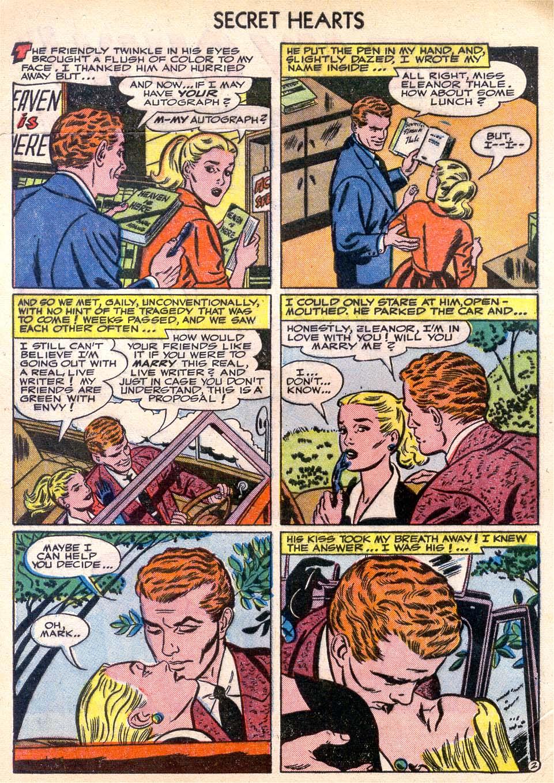 Read online Secret Hearts comic -  Issue #11 - 4
