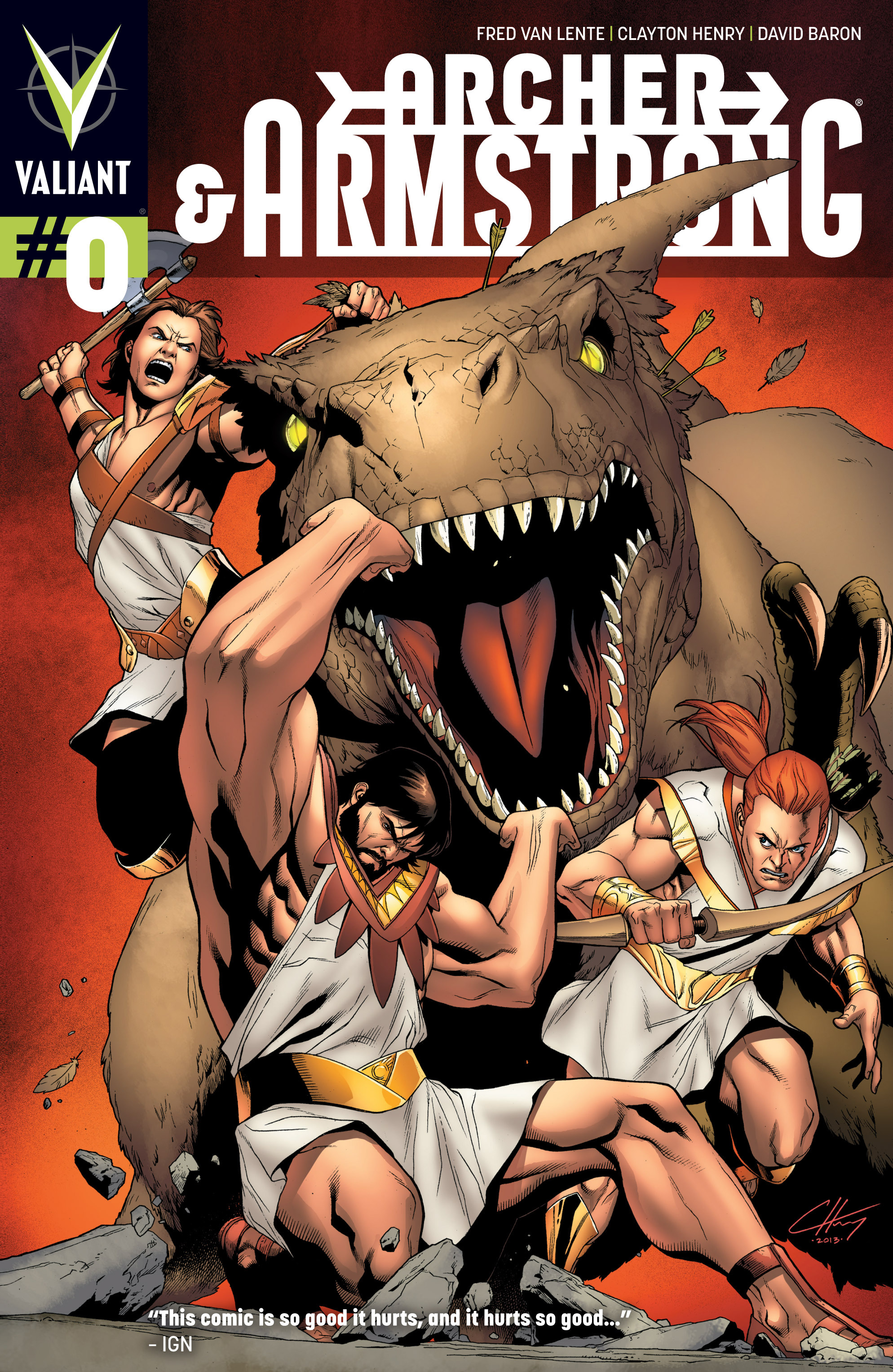 Read online Archer and Armstrong comic -  Issue #Archer and Armstrong _TPB 3 - 6