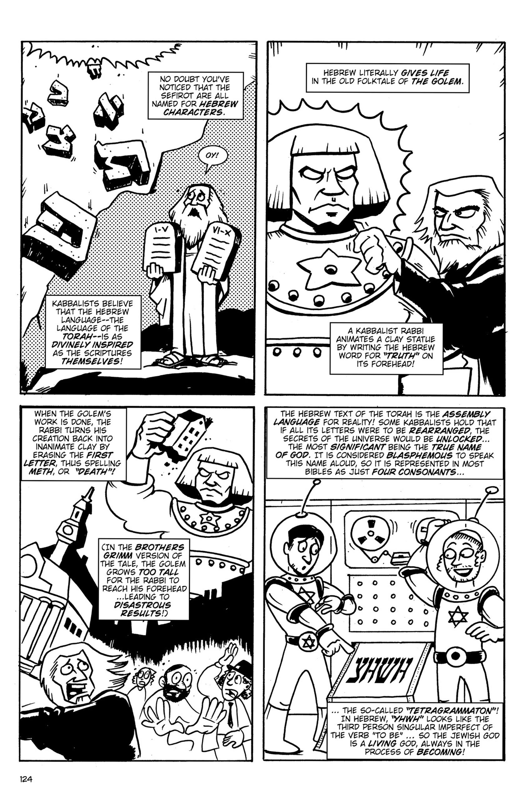 Read online Action Philosophers! comic -  Issue #Action Philosophers! TPB (Part 1) - 124