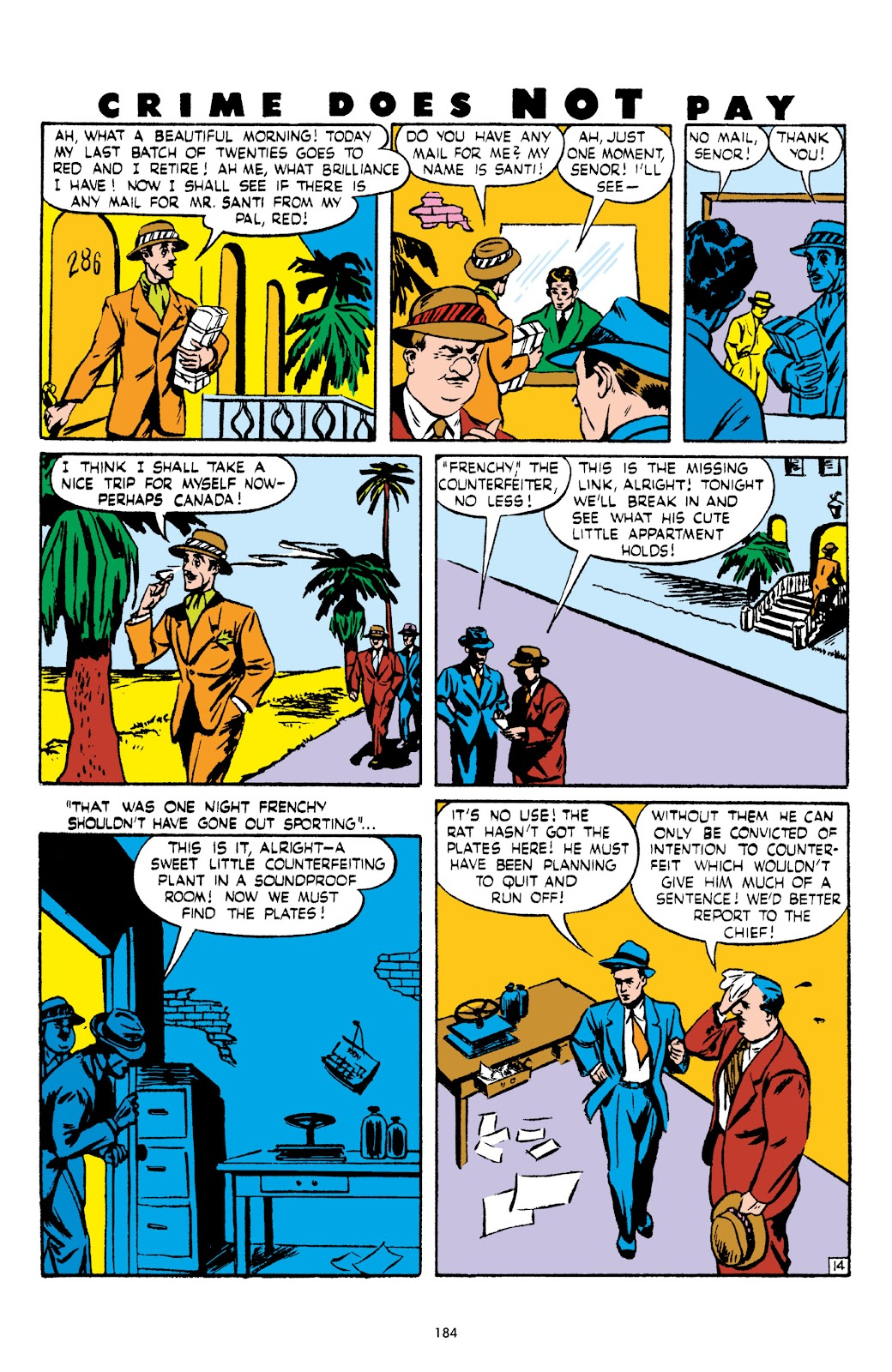 Read online Crime Does Not Pay Archives comic -  Issue # TPB 5 (Part 2) - 84