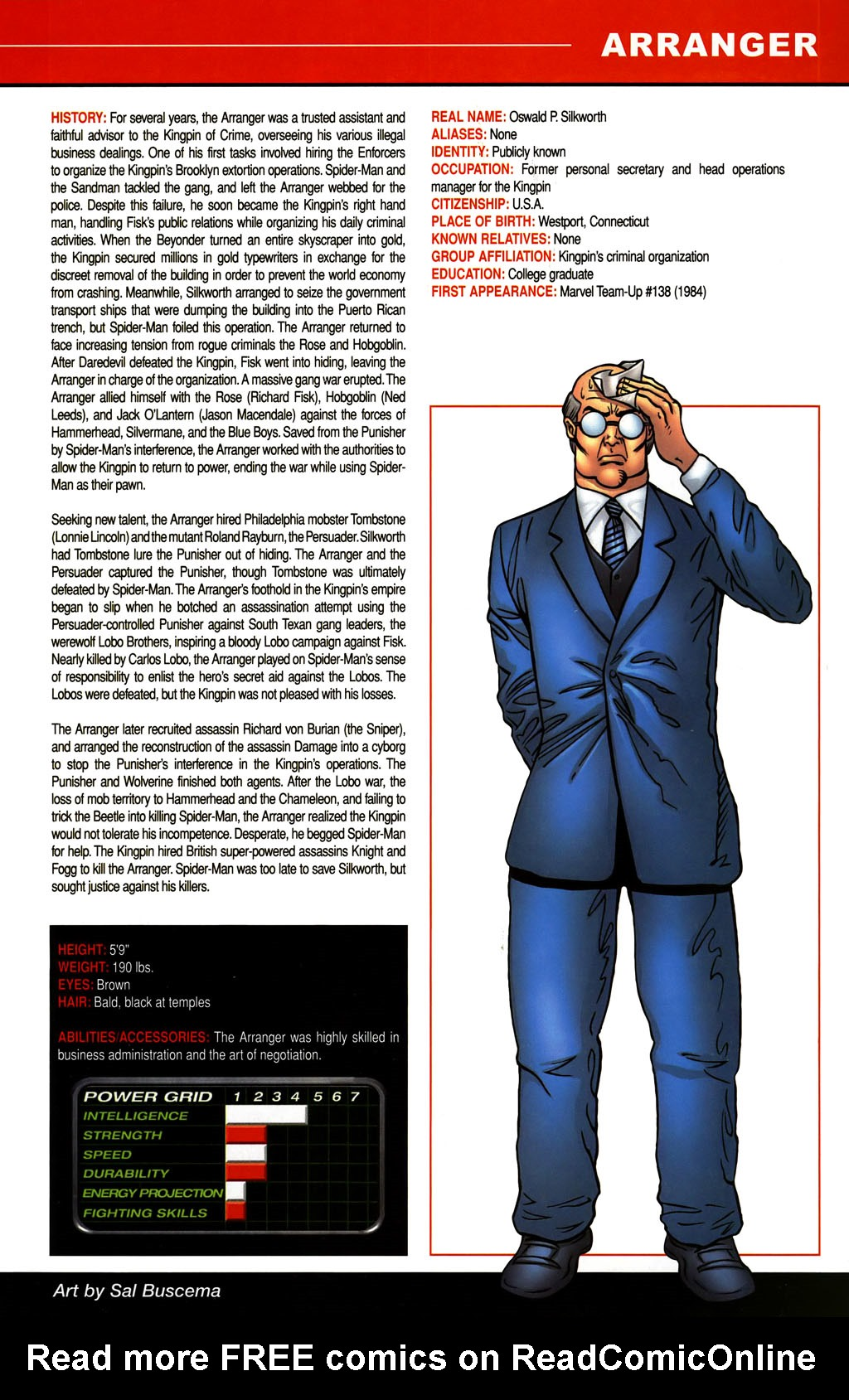 Read online All-New Official Handbook of the Marvel Universe A to Z comic -  Issue #1 - 29