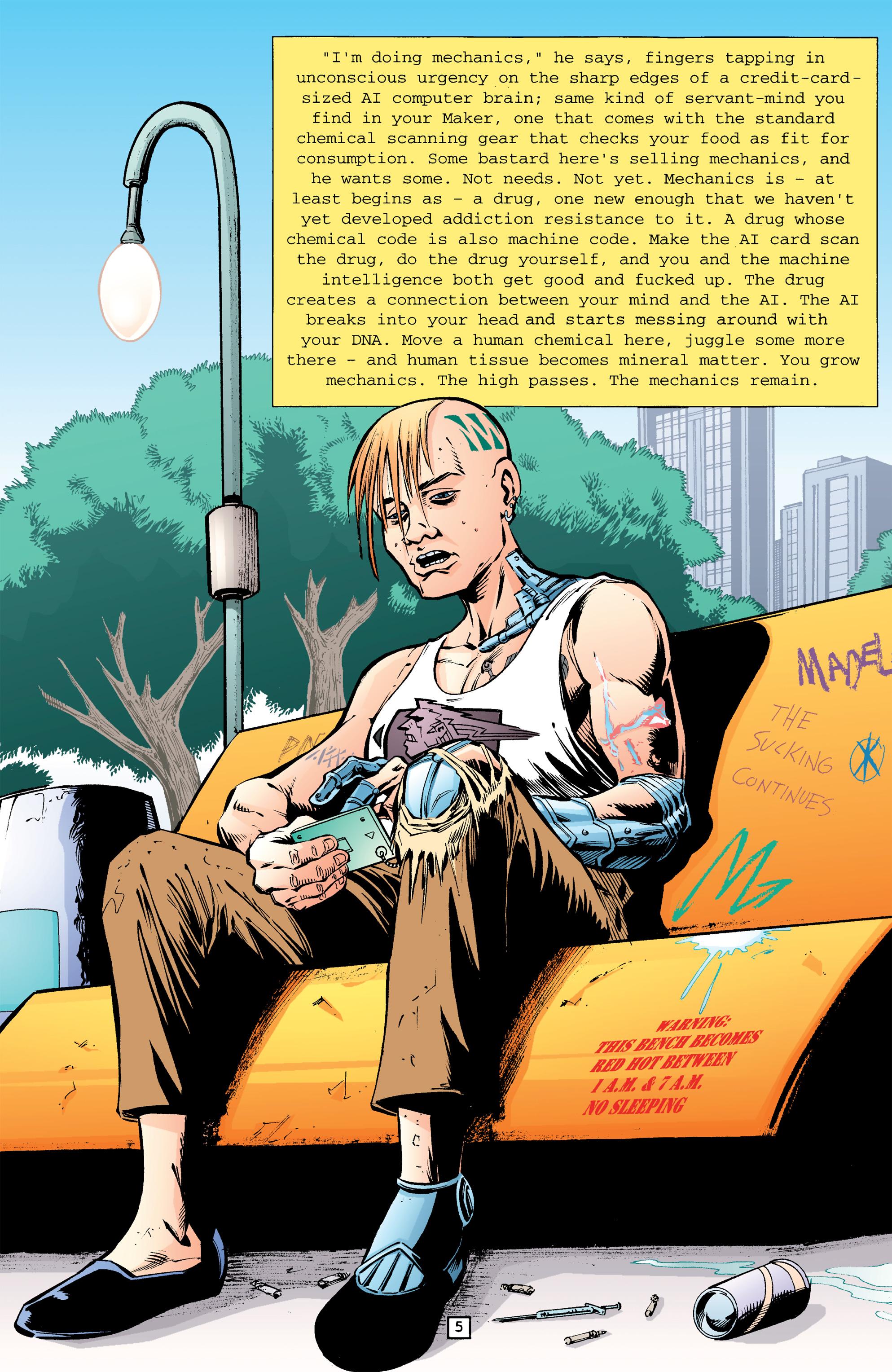Read online Transmetropolitan comic -  Issue #26 - 6