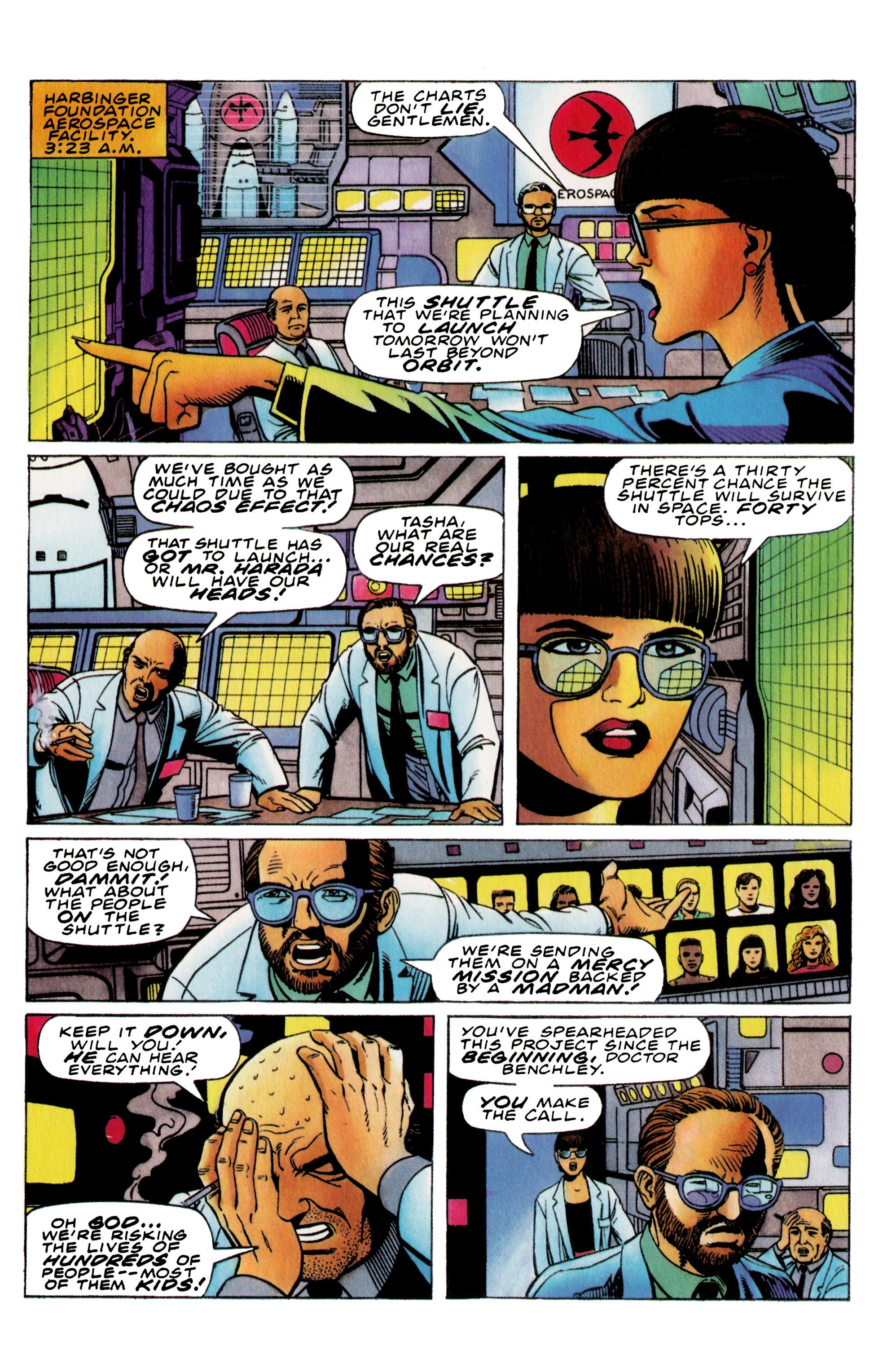 Read online Harbinger (1992) comic -  Issue #36 - 20