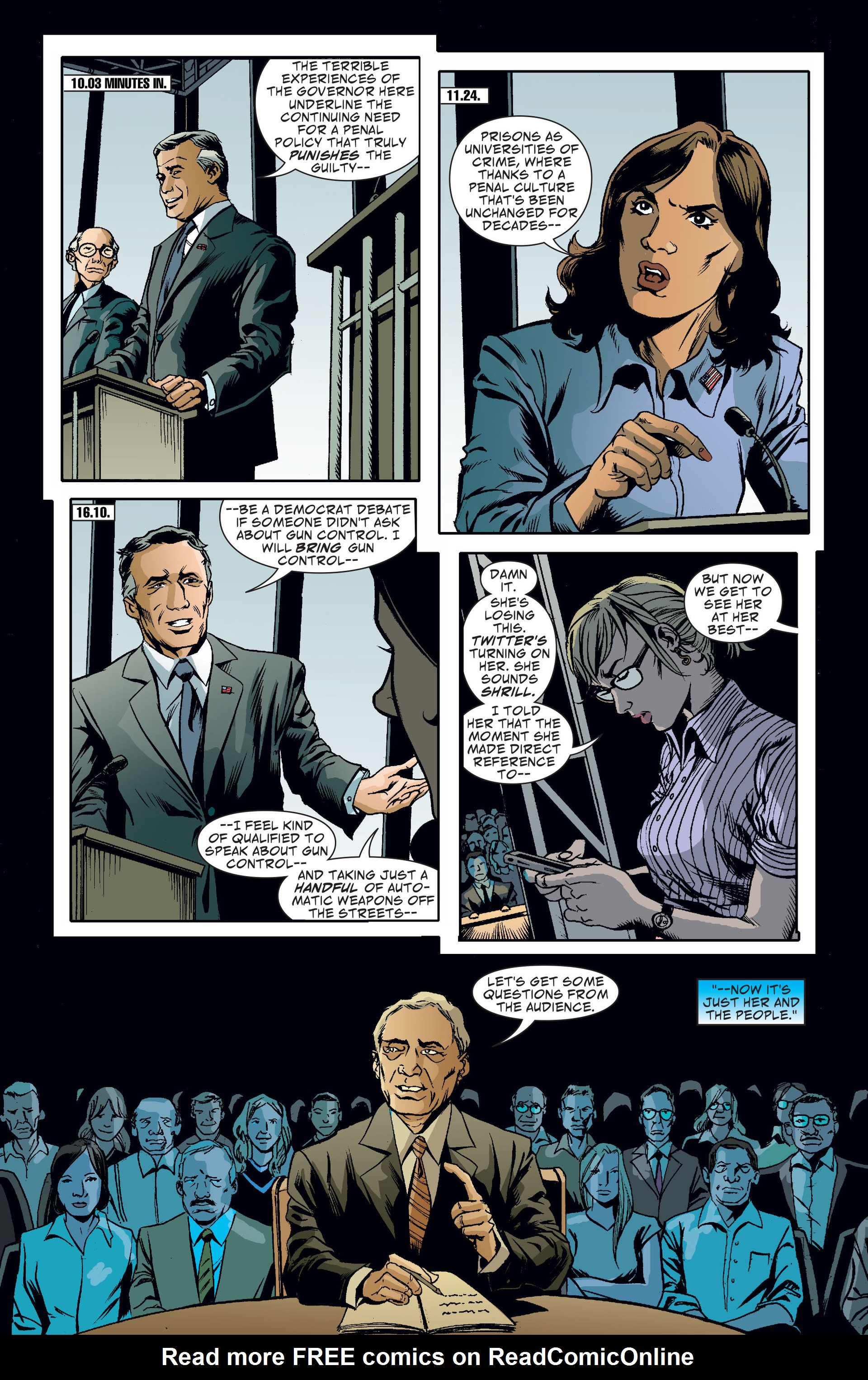 Read online Saucer Country comic -  Issue #10 - 15