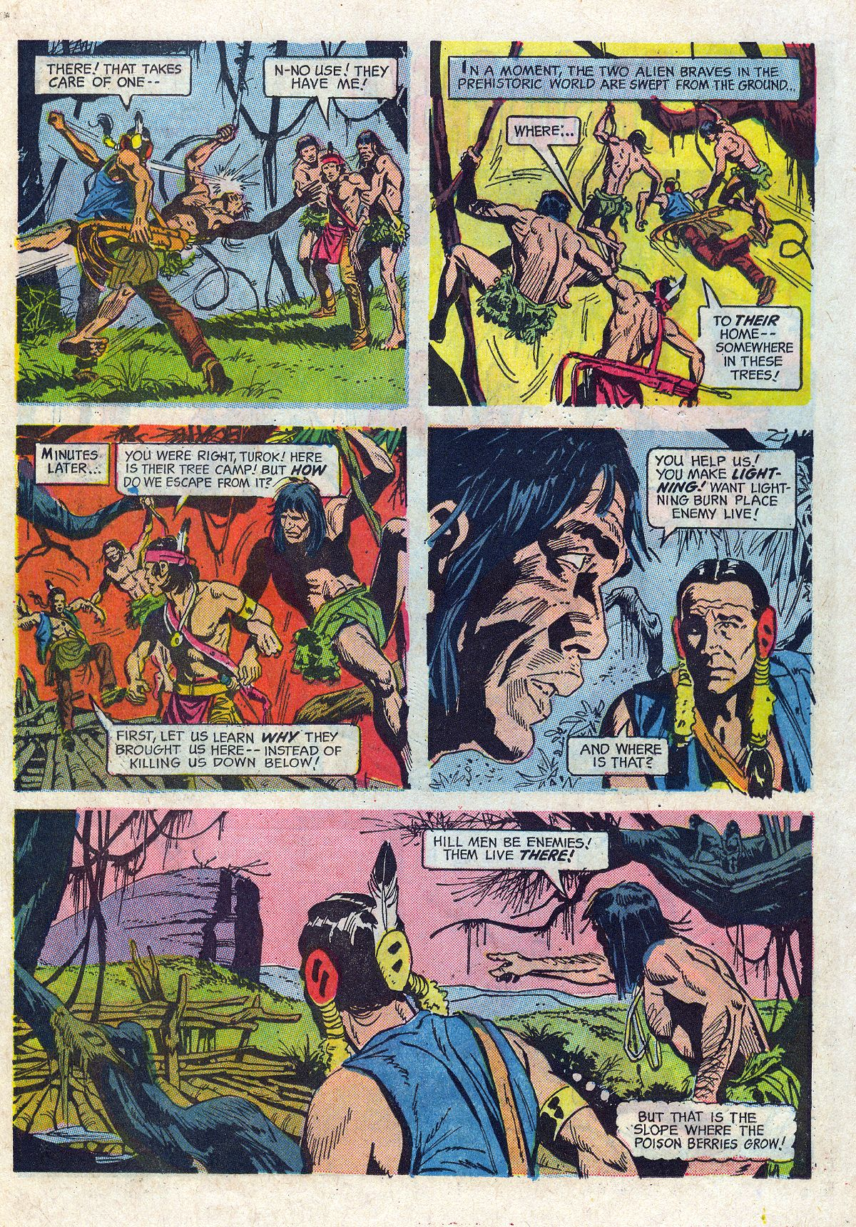Read online Turok, Son of Stone comic -  Issue #61 - 22
