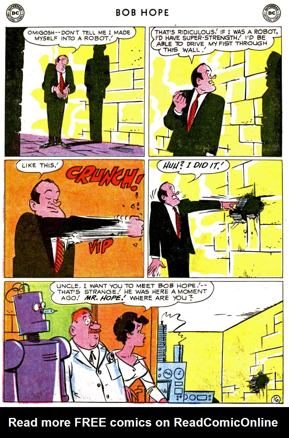 The Adventures of Bob Hope issue 68 - Page 20
