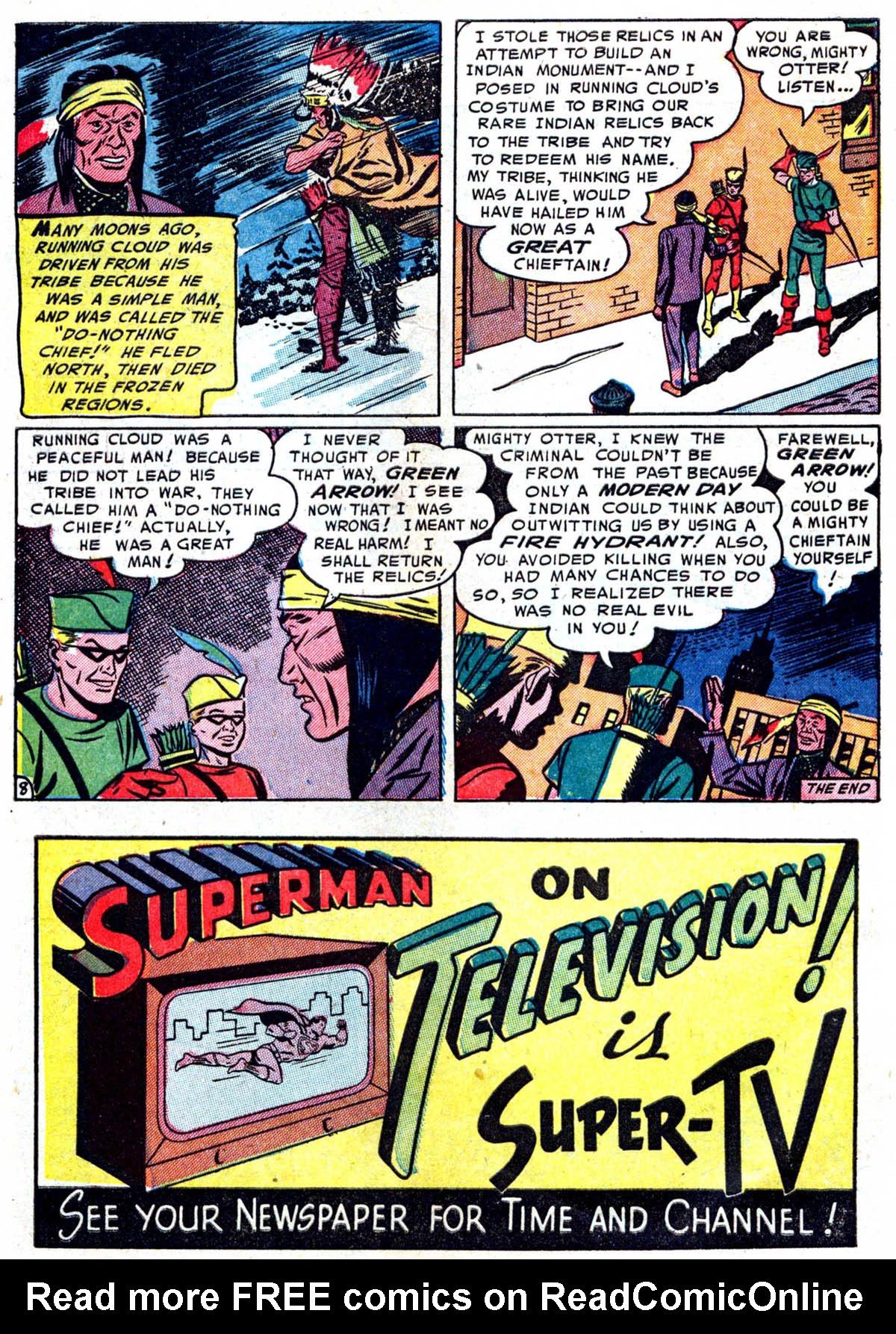 Read online Adventure Comics (1938) comic -  Issue #199 - 34