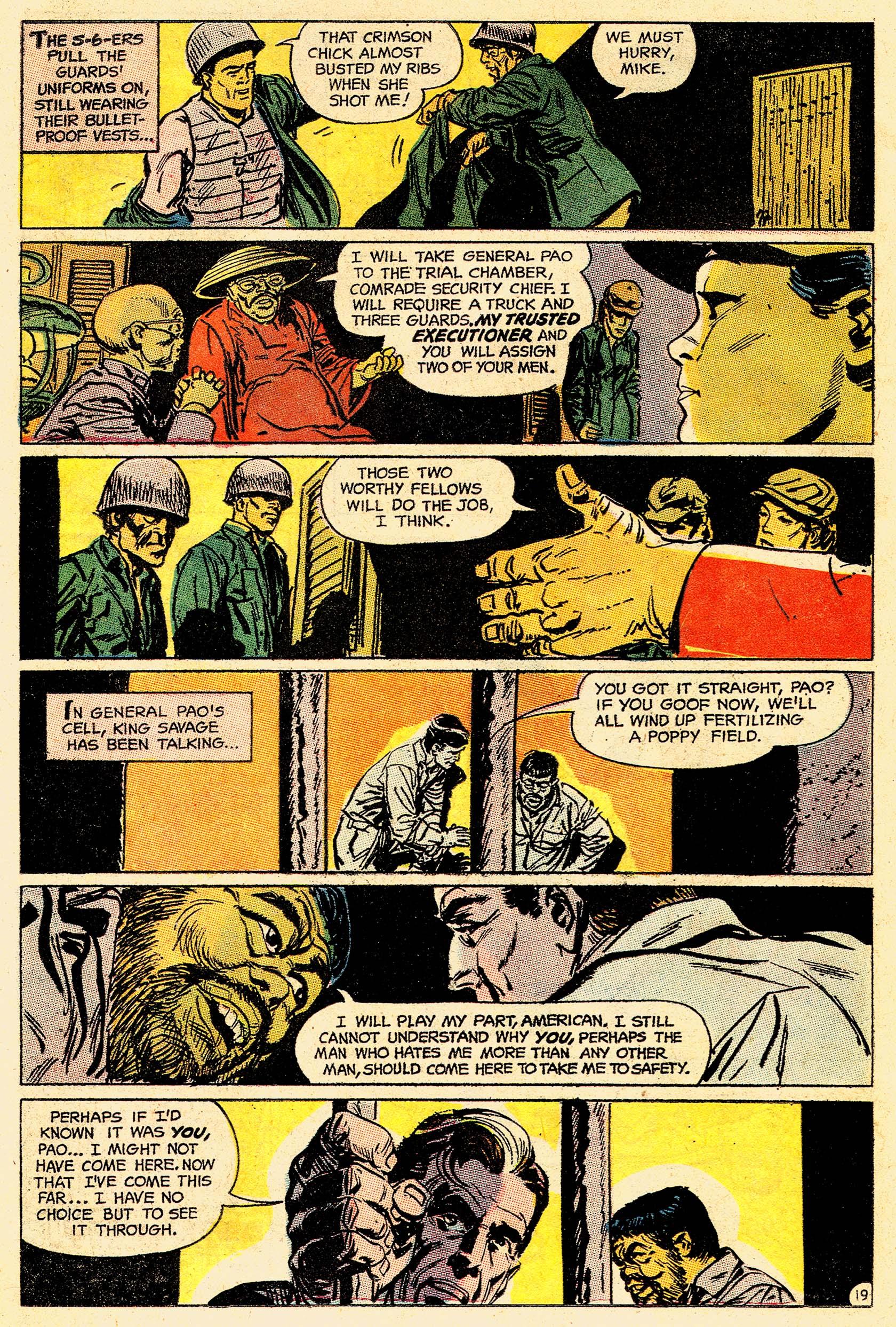 Read online Secret Six (1968) comic -  Issue #4 - 25