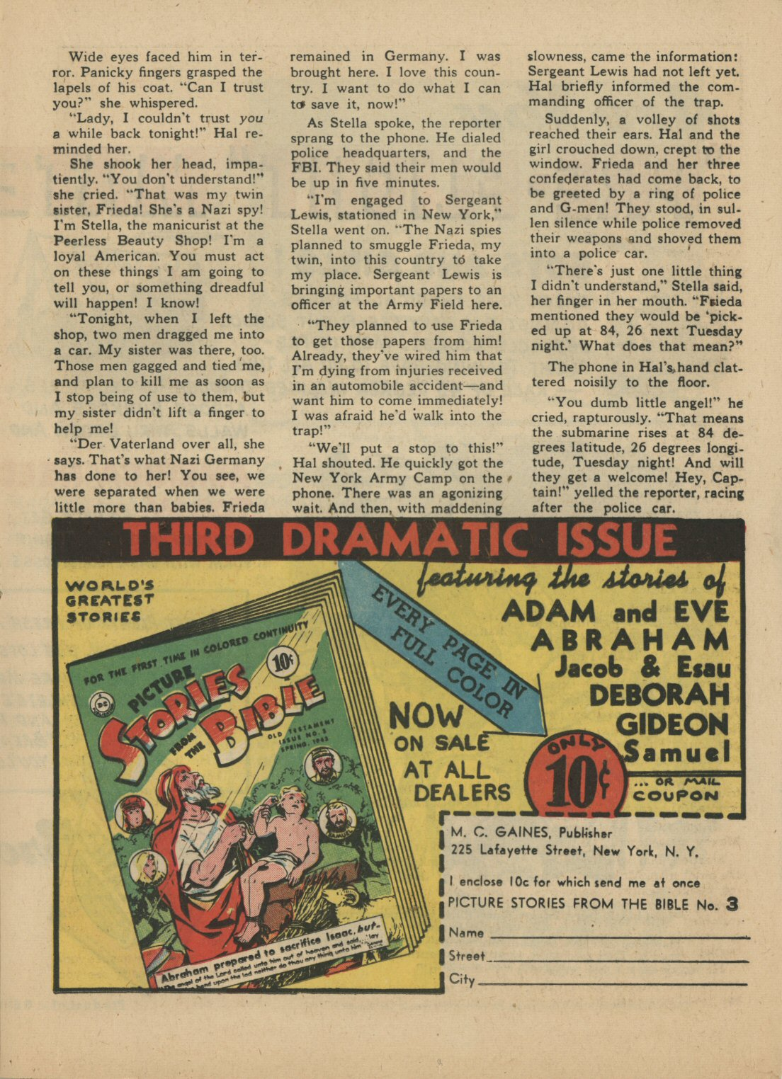 Read online Sensation (Mystery) Comics comic -  Issue #21 - 32