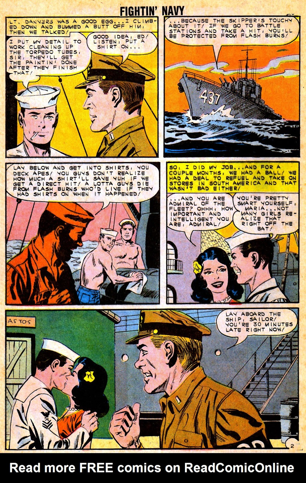 Read online Fightin' Navy comic -  Issue #111 - 28