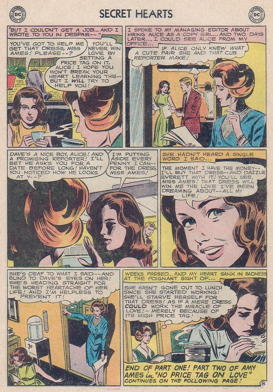 Read online Secret Hearts comic -  Issue #102 - 26
