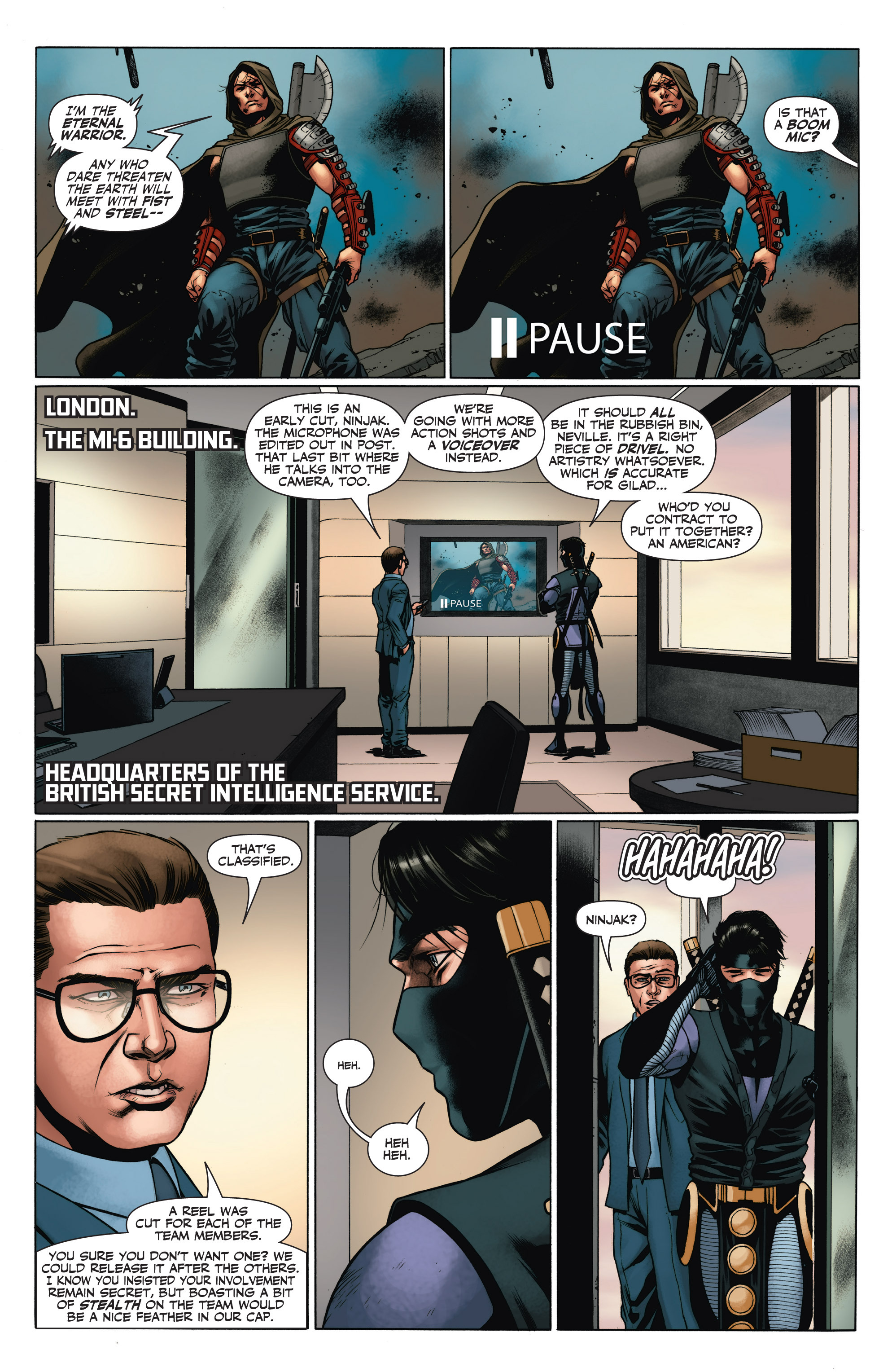 Read online Armor Hunters: Aftermath comic -  Issue # Full - 17