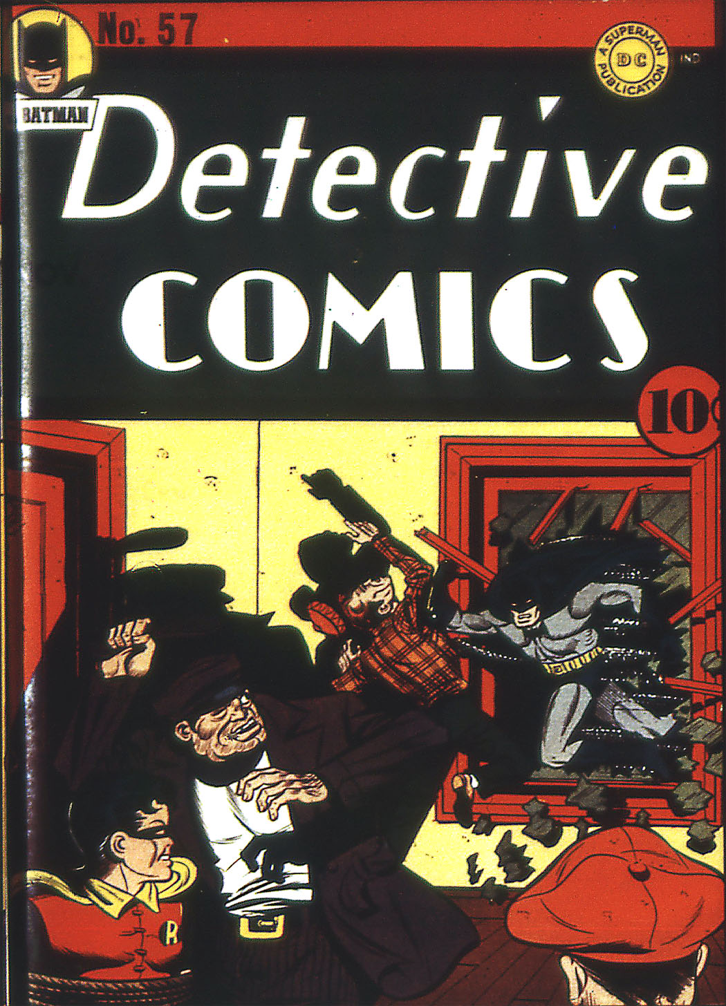 Detective Comics (1937) 57 Page 1