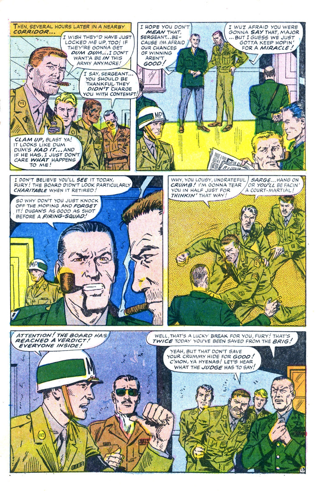 Read online Sgt. Fury comic -  Issue #60 - 19