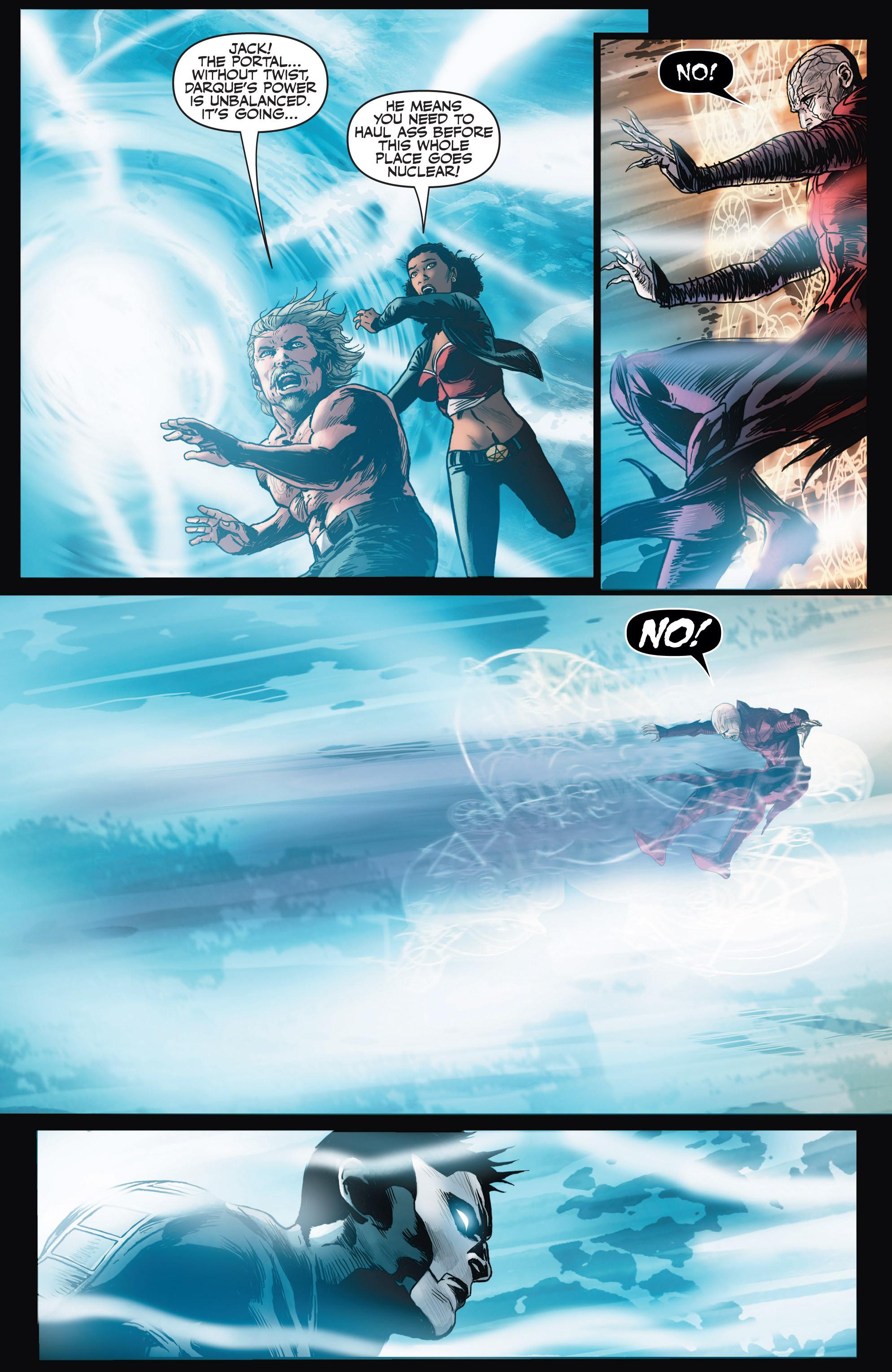 Read online Shadowman (2012) comic -  Issue #4 - 20