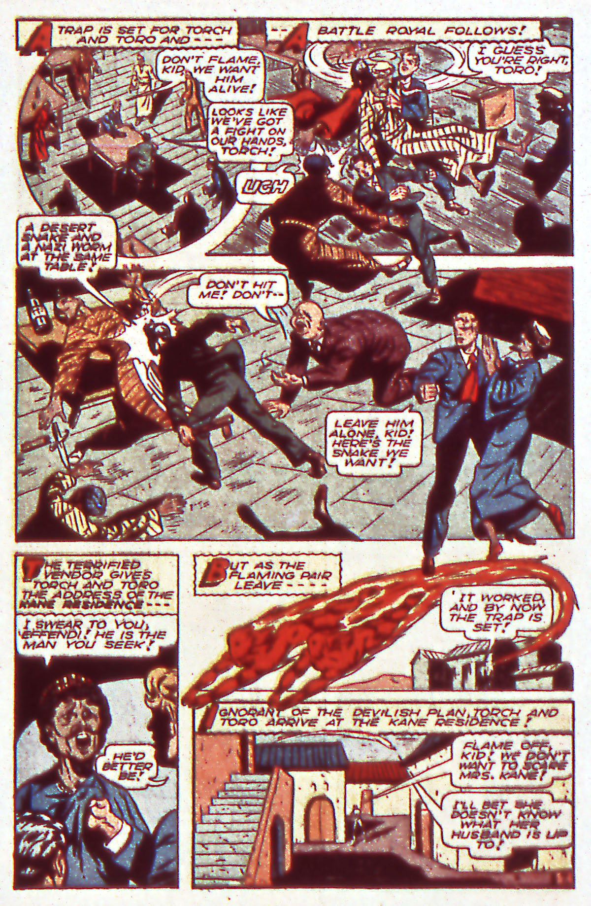 Read online All-Winners Comics comic -  Issue #12 - 9