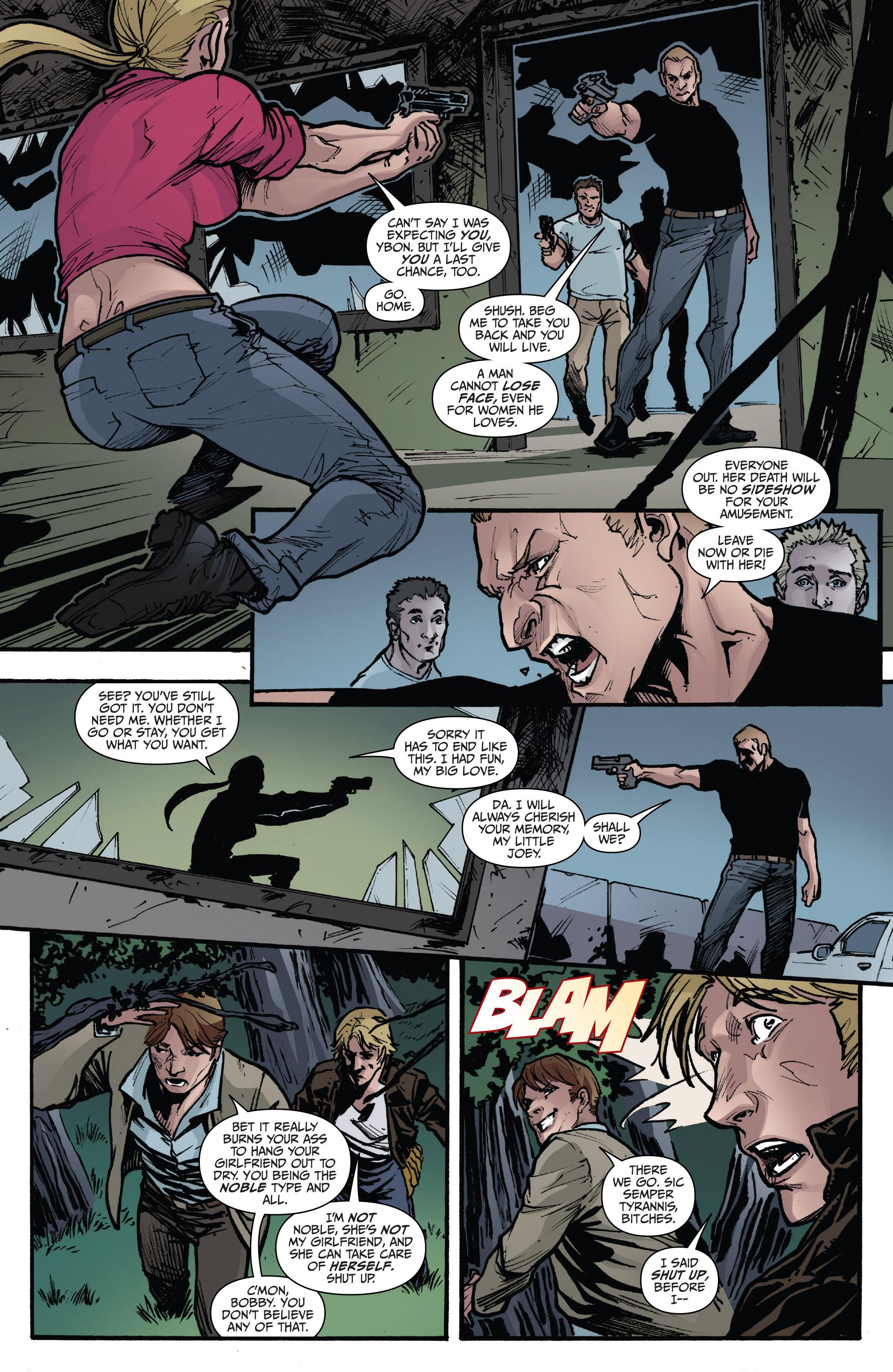 Read online 3 Guns comic -  Issue #6 - 18