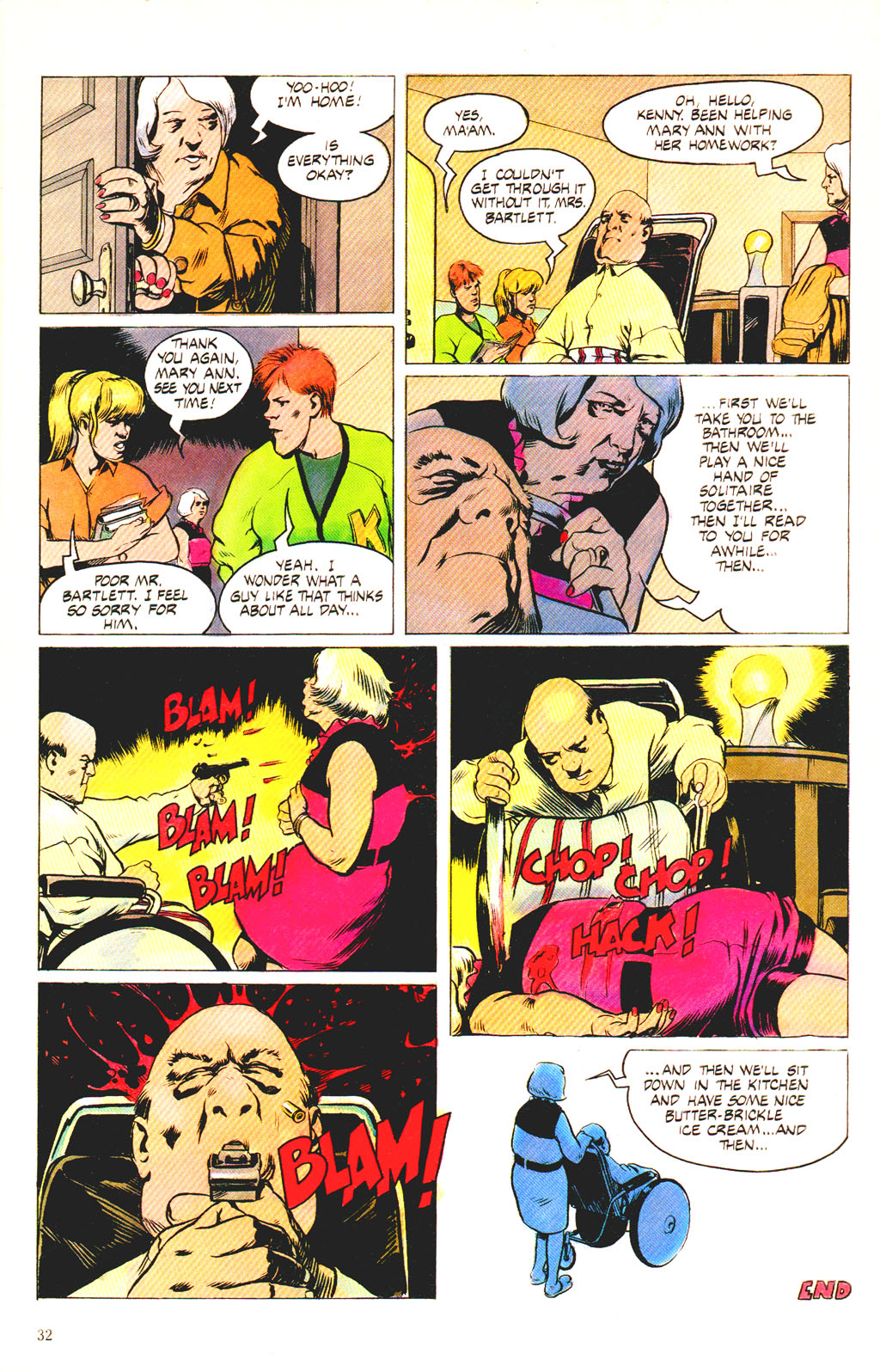 Read online Twisted Tales (1982) comic -  Issue #7 - 34