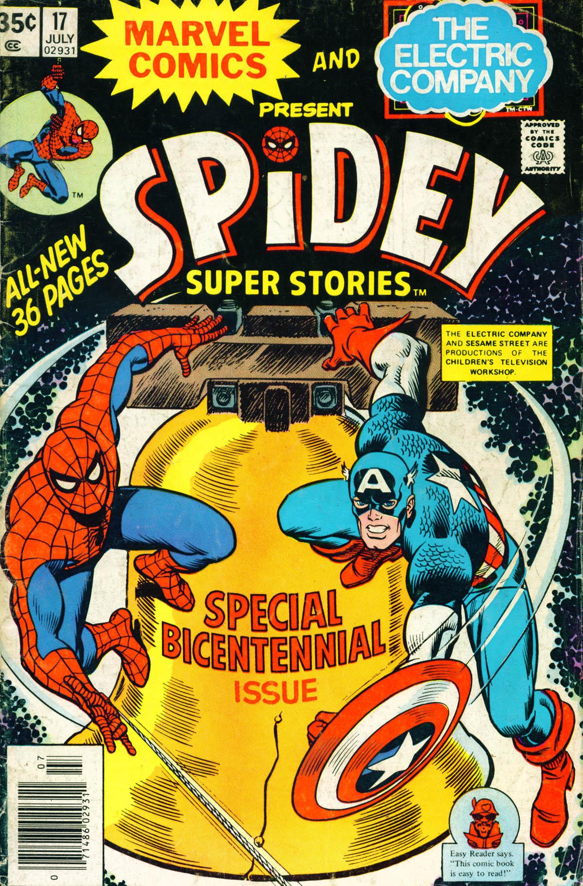 Spidey Super Stories 17 Page 1