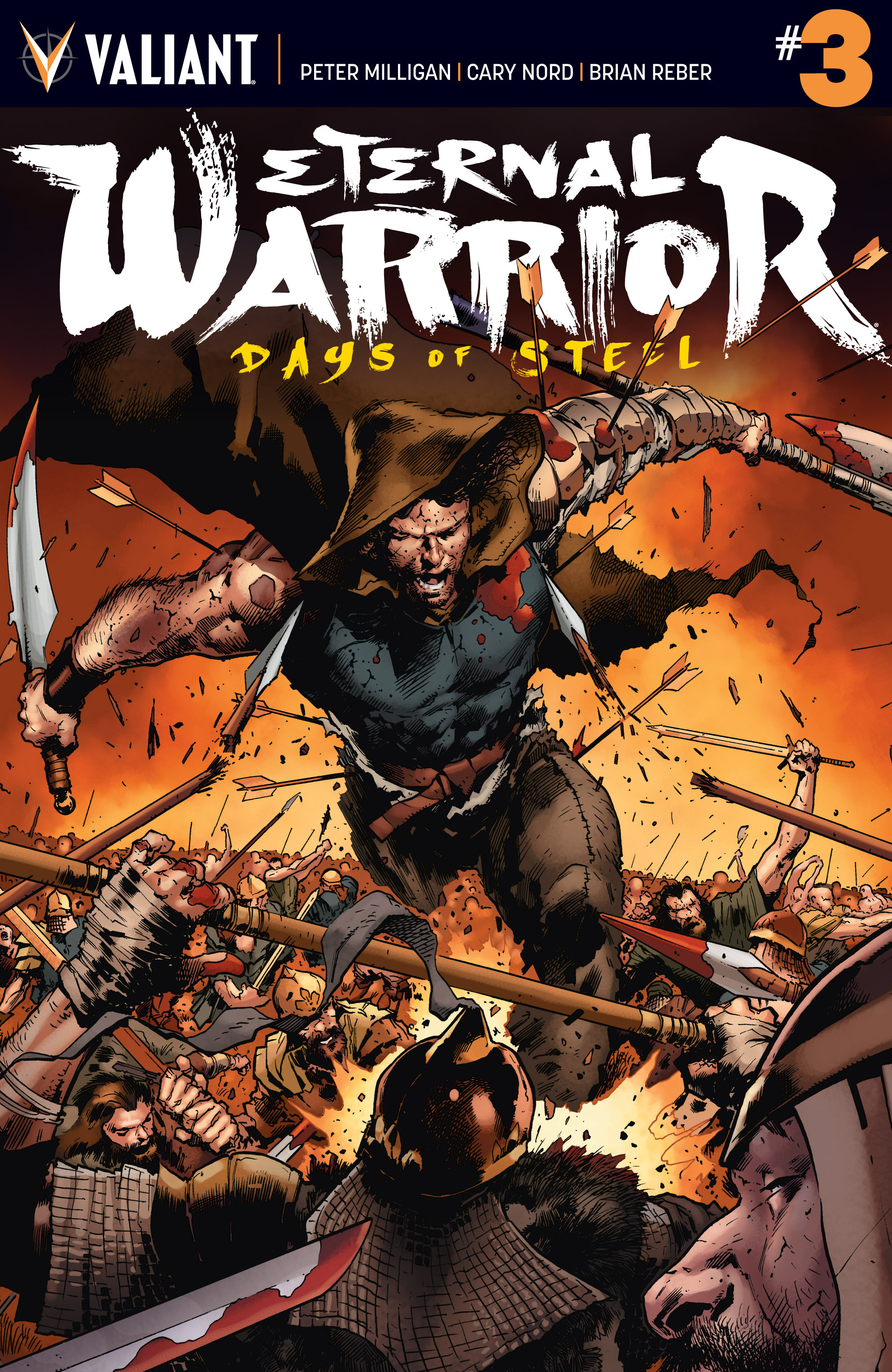 Read online Eternal Warrior: Days of Steel comic -  Issue #3 - 1