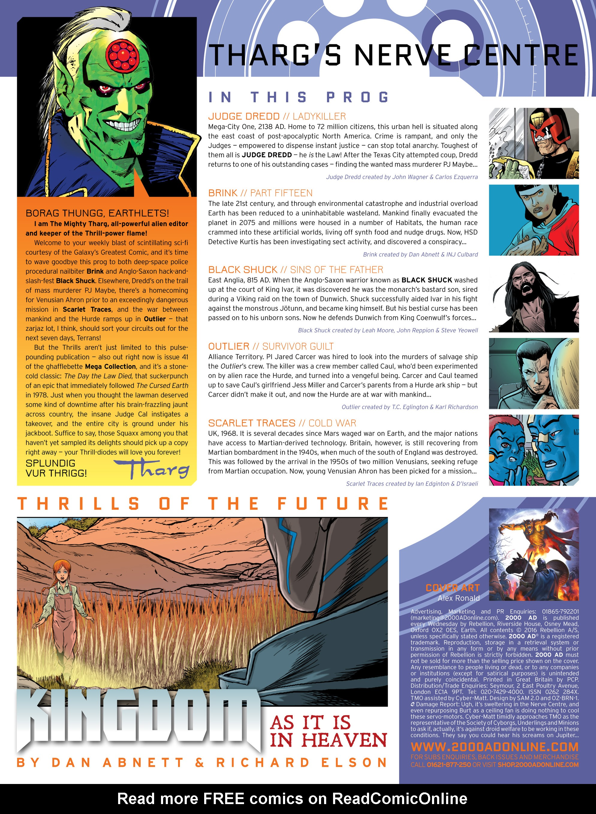 Read online 2000 AD comic -  Issue #1992 - 2