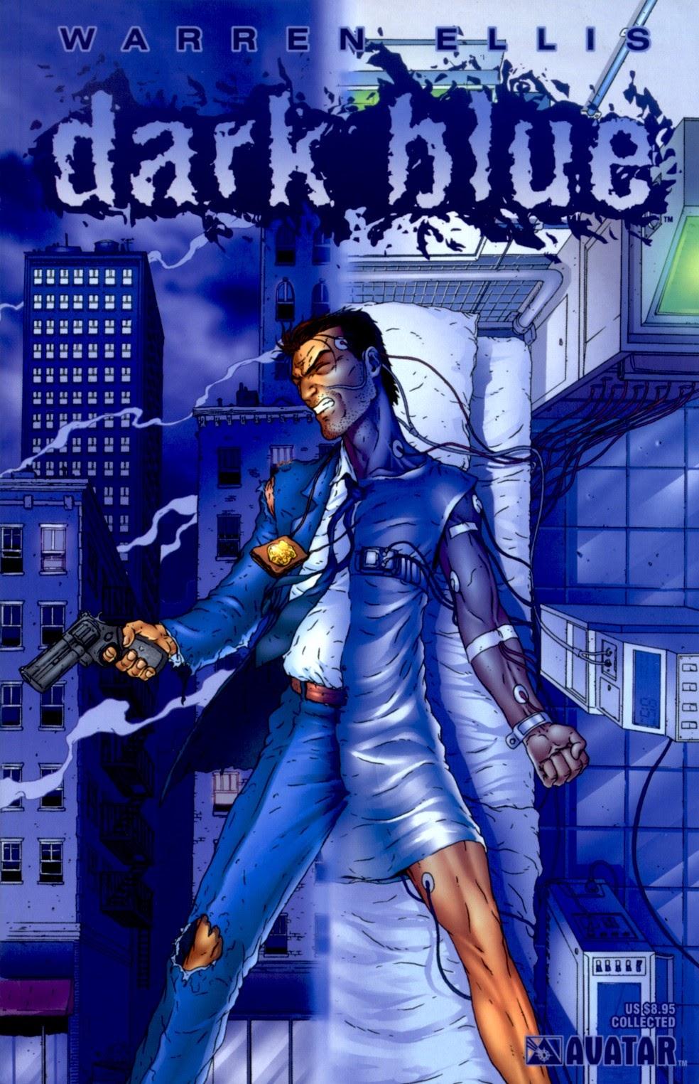 Dark Blue issue TPB - Page 1
