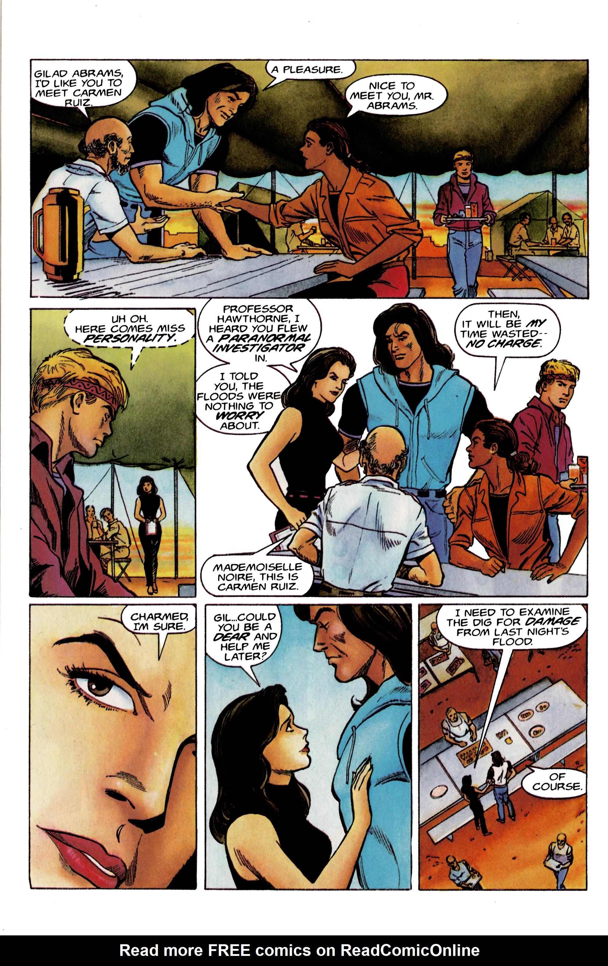 Read online Eternal Warrior (1992) comic -  Issue #19 - 8