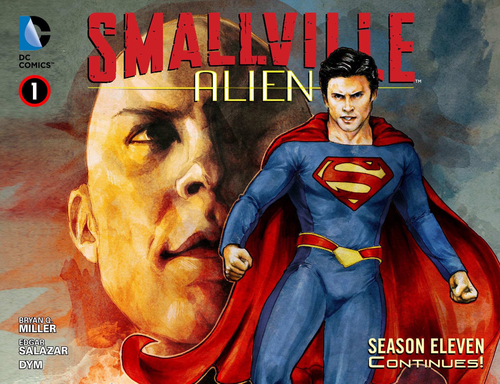 Read online Smallville: Alien comic -  Issue #1 - 1