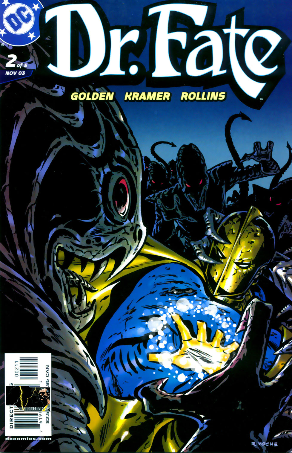 Read online Doctor Fate (2003) comic -  Issue #2 - 1