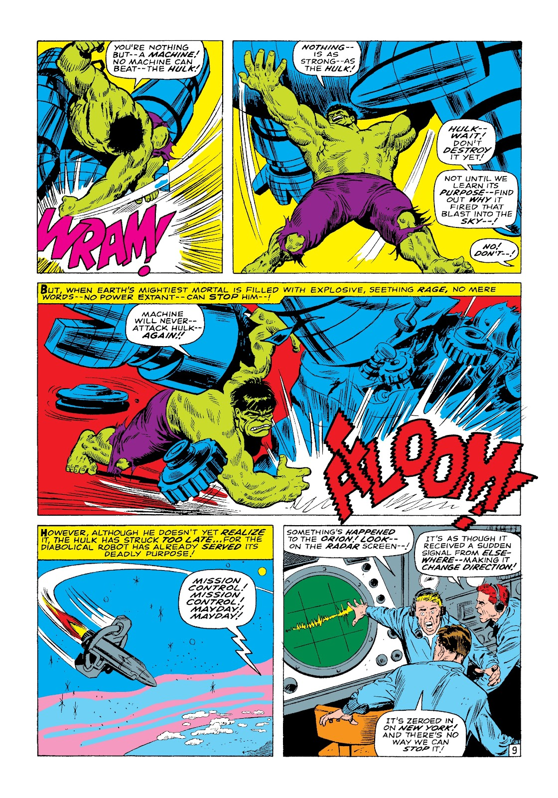 Read online Marvel Masterworks: The Incredible Hulk comic -  Issue # TPB 3 (Part 1) - 71