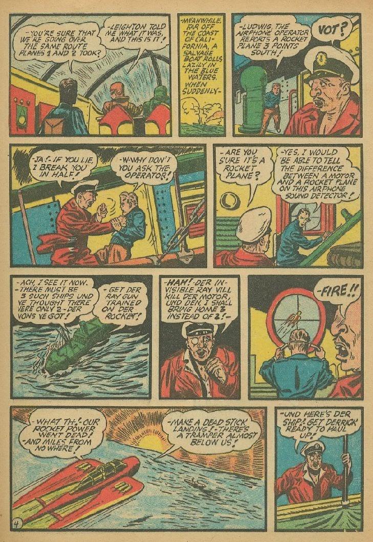 Read online Amazing Man Comics comic -  Issue #9 - 24