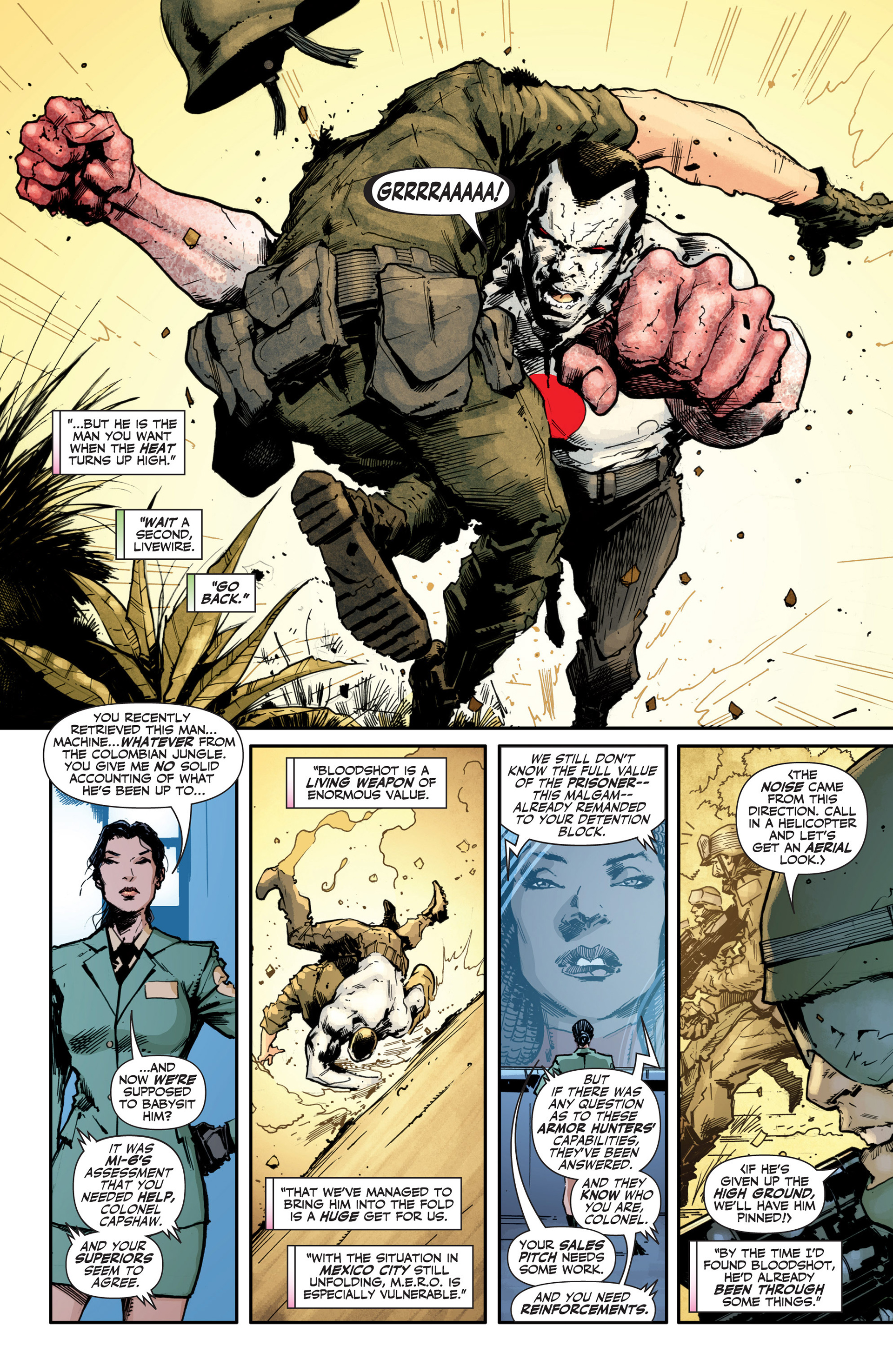 Read online Armor Hunters: Bloodshot comic -  Issue #1 - 6