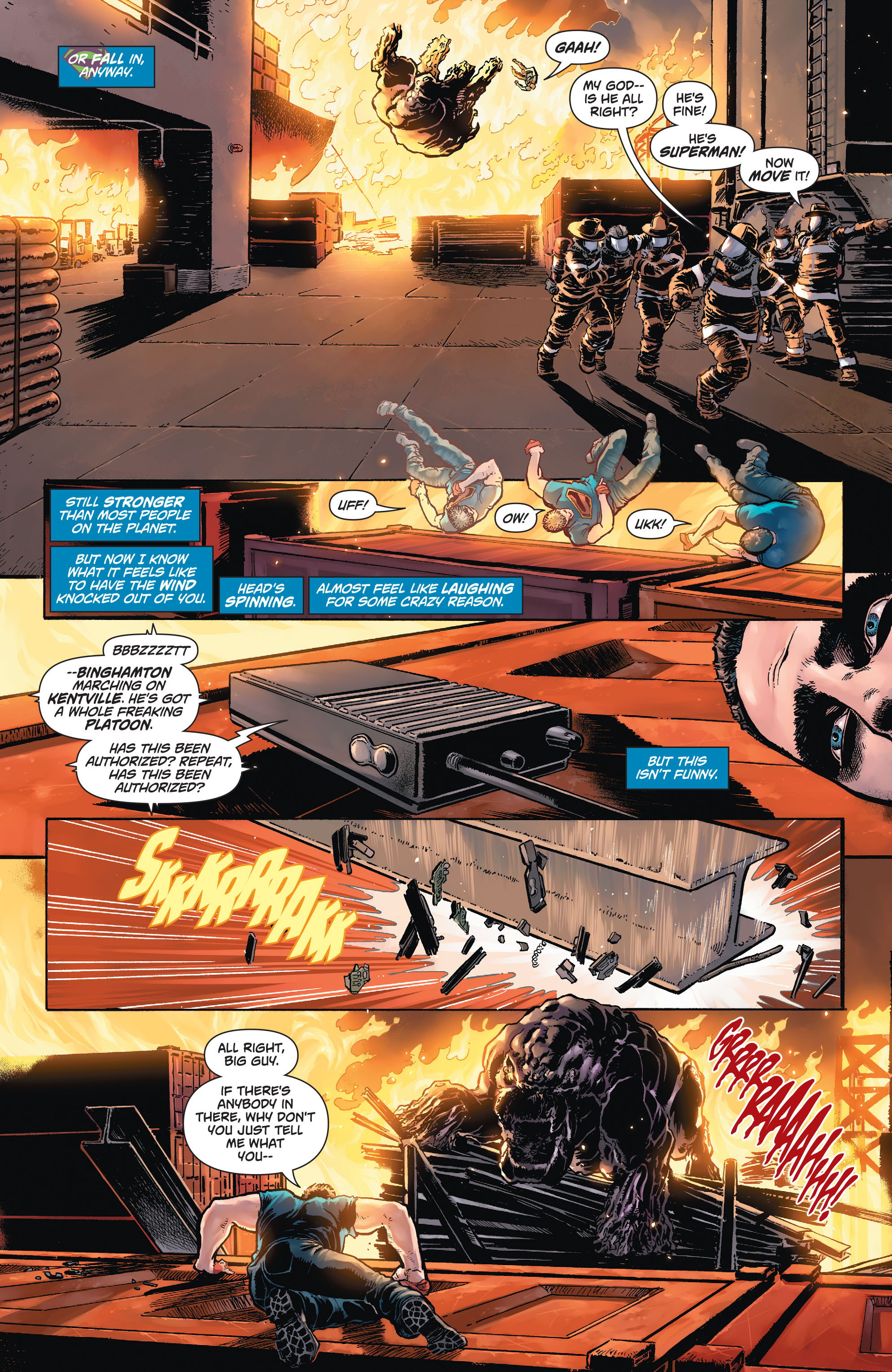 Read online Action Comics (2011) comic -  Issue #42 - 6