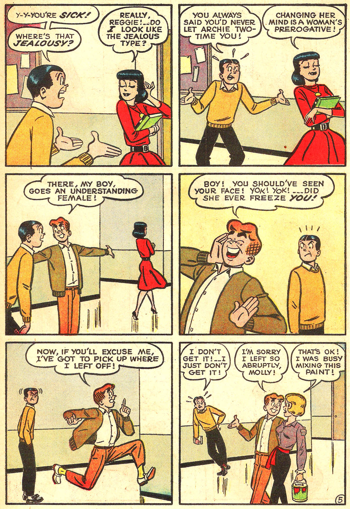 Read online Archie (1960) comic -  Issue #133 - 7
