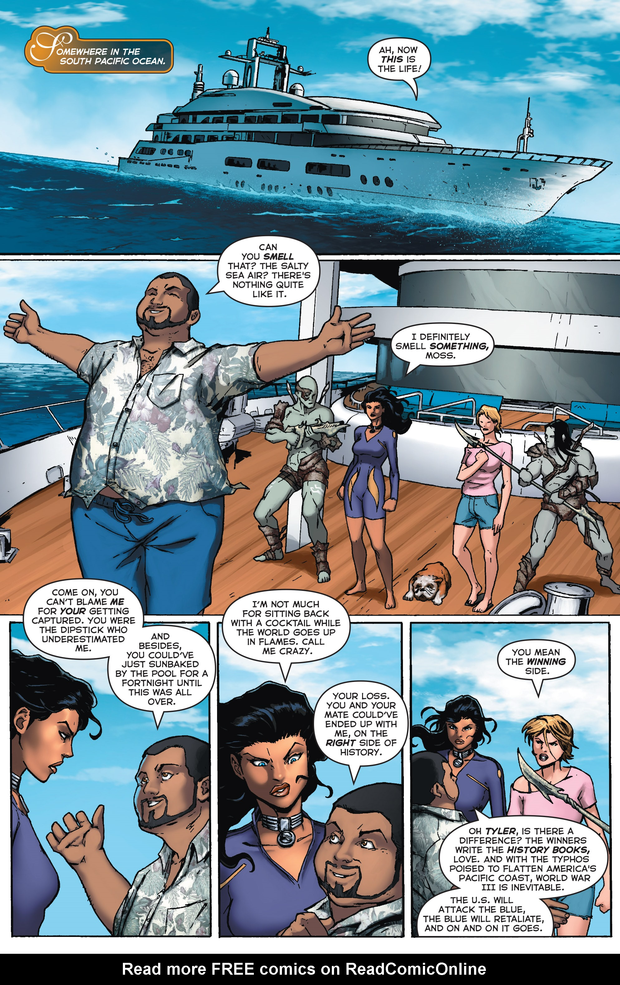 Read online Fathom (2017) comic -  Issue #5 - 6