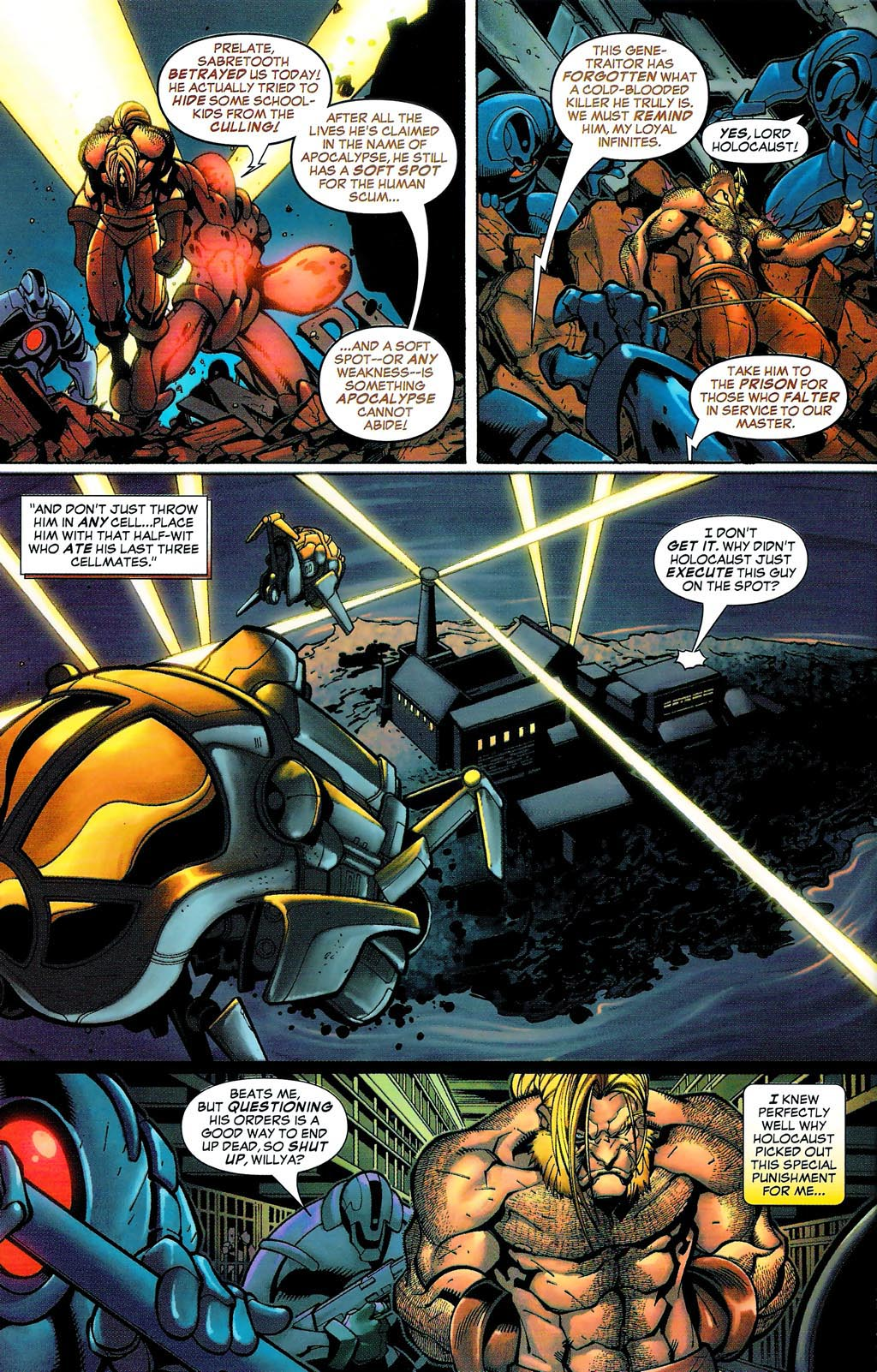 Read online Age of Apocalypse (2005) comic -  Issue #0 - 10