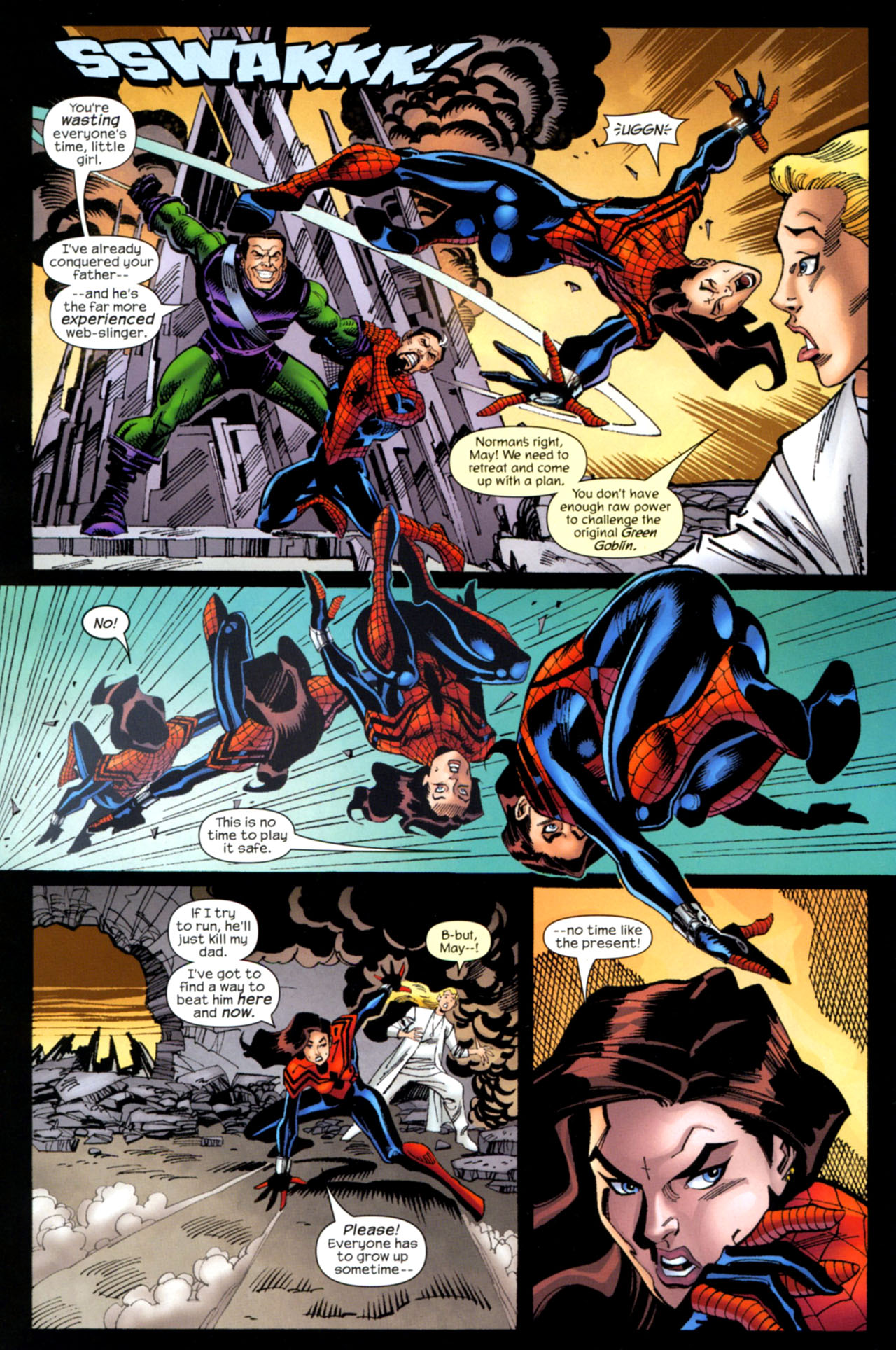 Read online Amazing Spider-Girl comic -  Issue #30 - 3