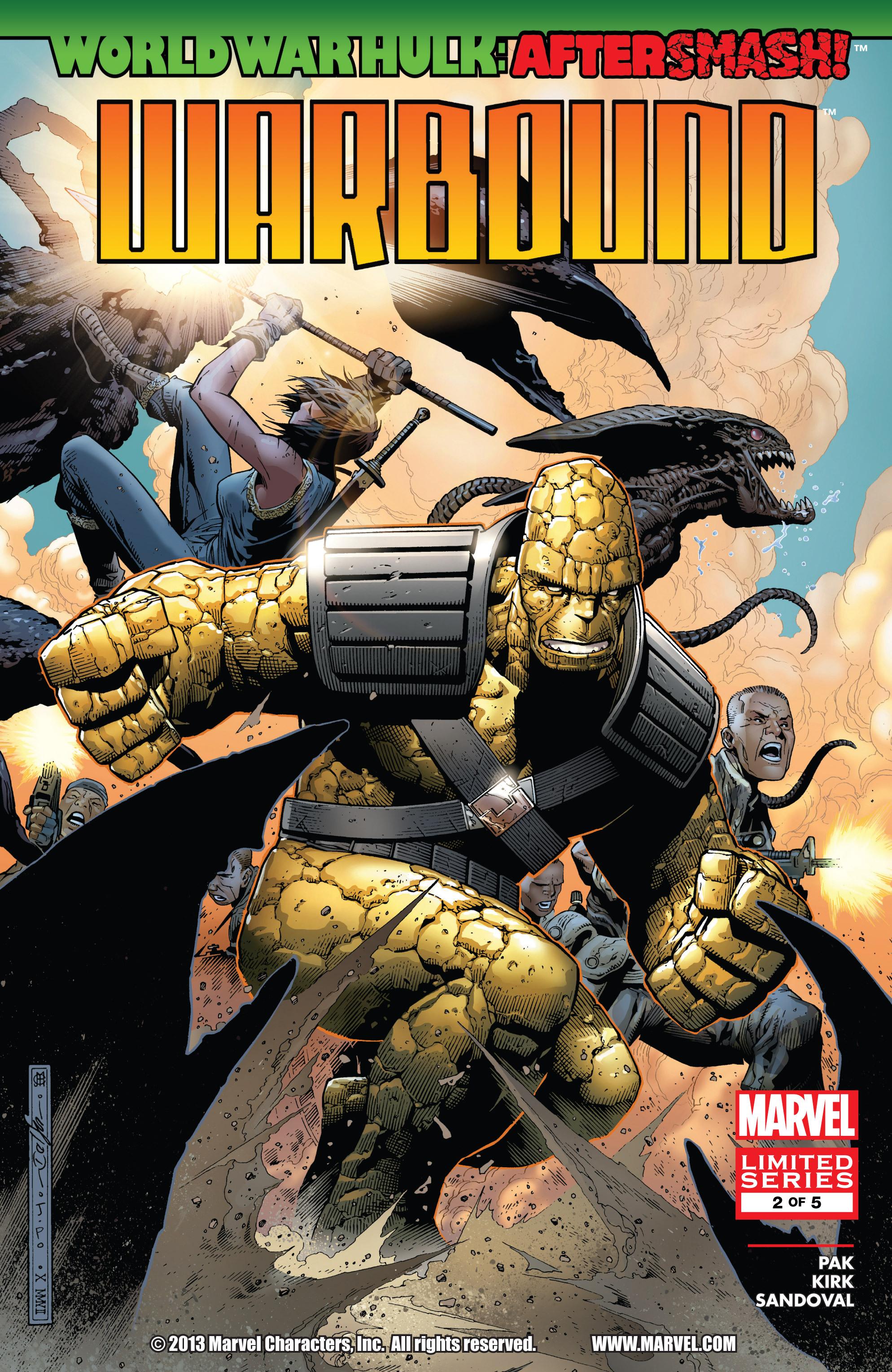 Read online World War Hulk Aftersmash: Warbound, Vol. 1 comic -  Issue #2 - 1