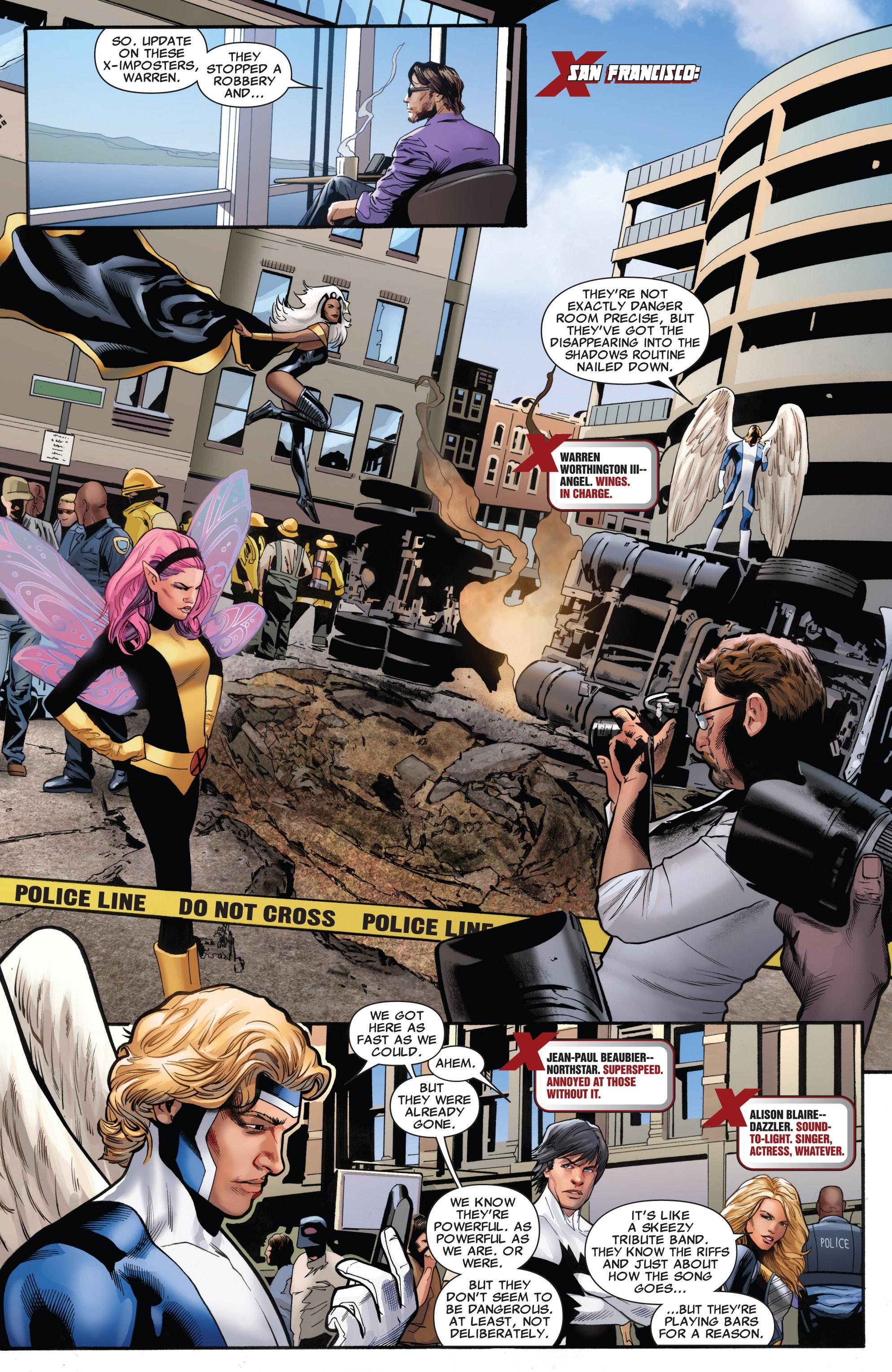 Read online Uncanny X-Men (1963) comic -  Issue #531 - 10