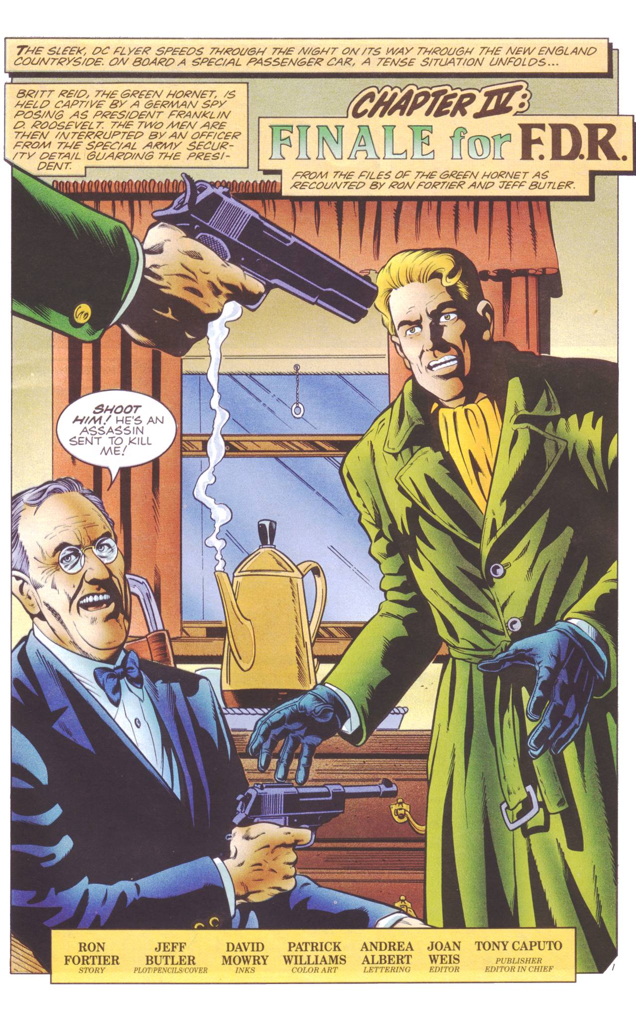 Read online Sting of The Green Hornet comic -  Issue #4 - 2