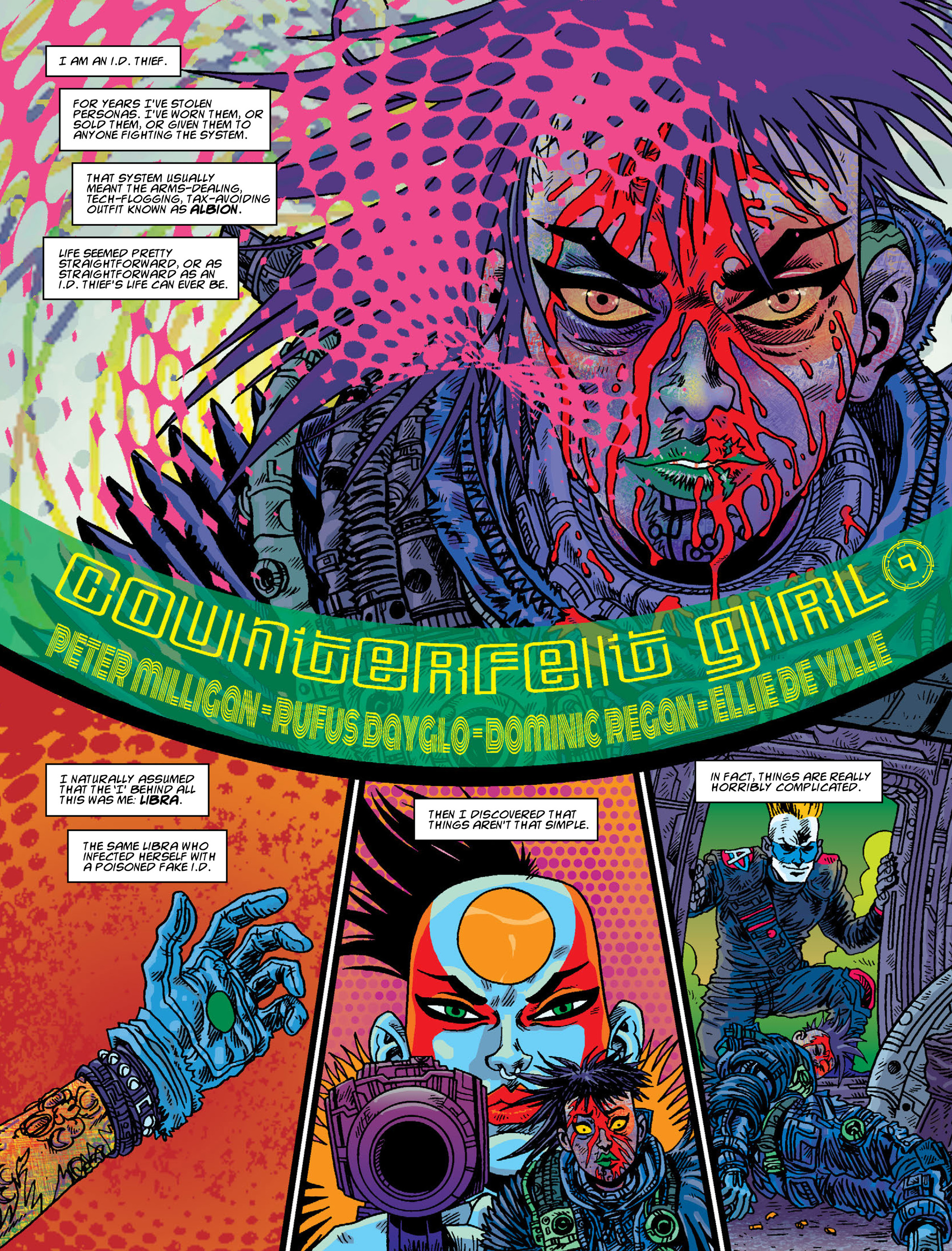 Read online 2000 AD comic -  Issue #2008 - 23