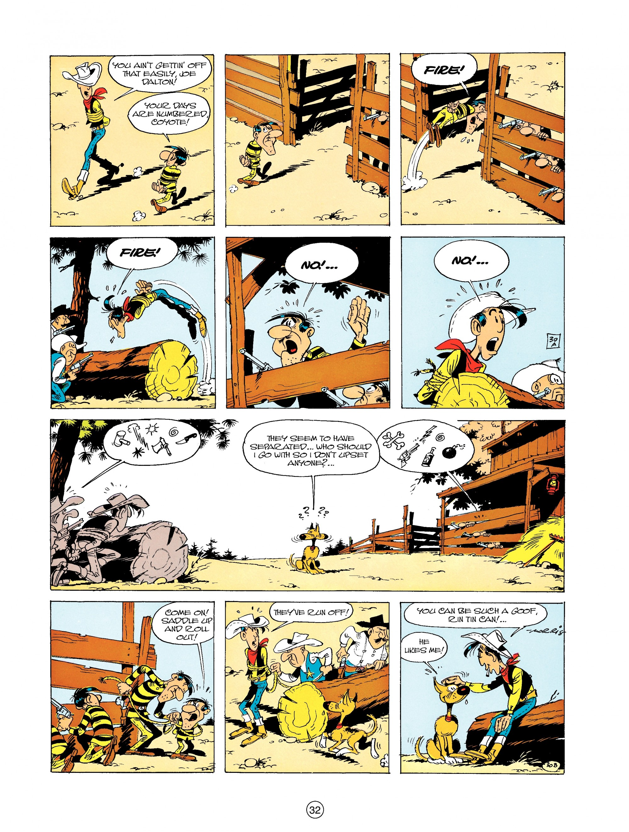 Read online A Lucky Luke Adventure comic -  Issue #19 - 32