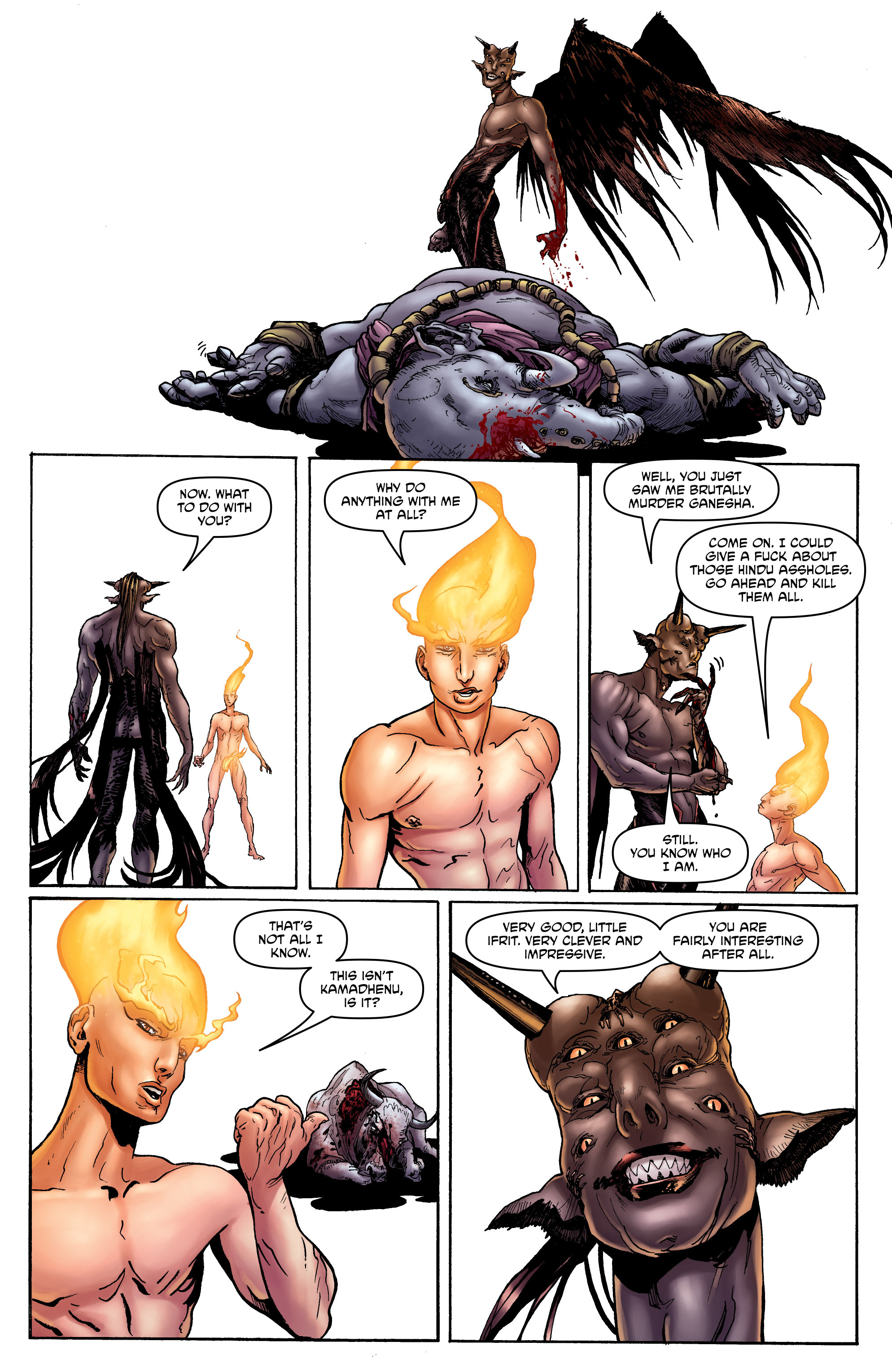 Read online God is Dead: Book of Acts comic -  Issue # Omega - 11