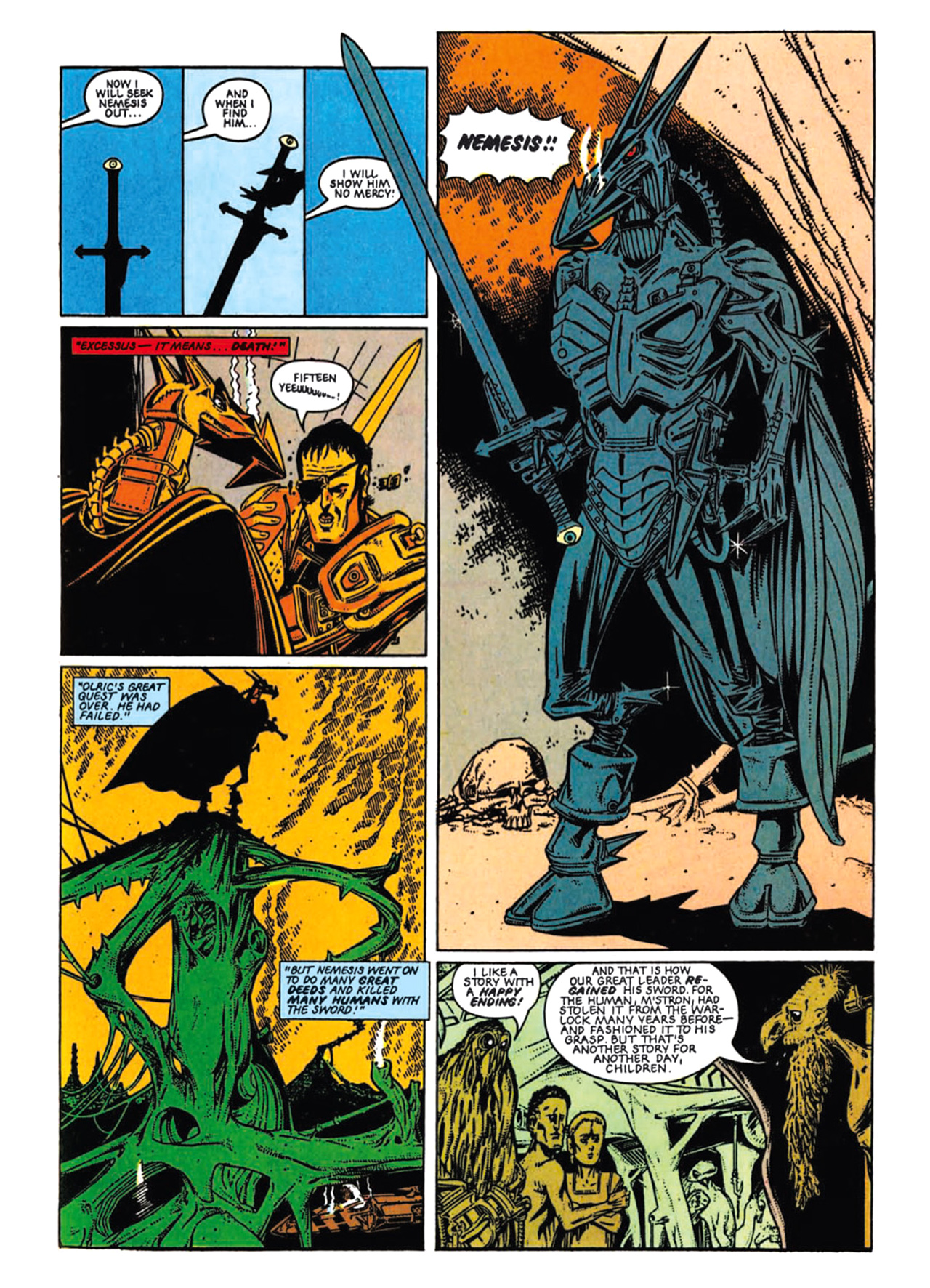 Read online Nemesis The Warlock comic -  Issue # TPB Deviant Edition - 67