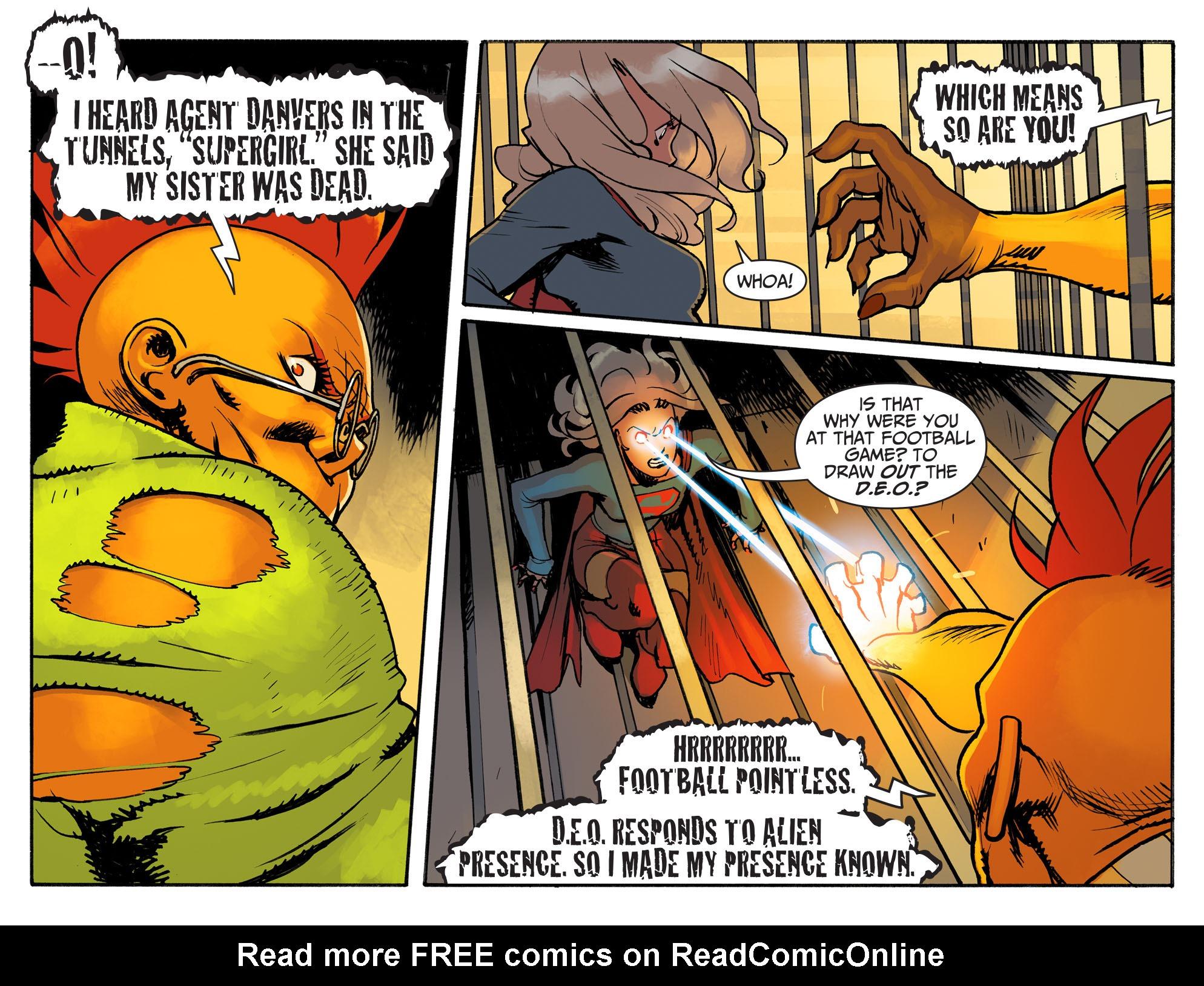Read online Adventures of Supergirl comic -  Issue #3 - 13