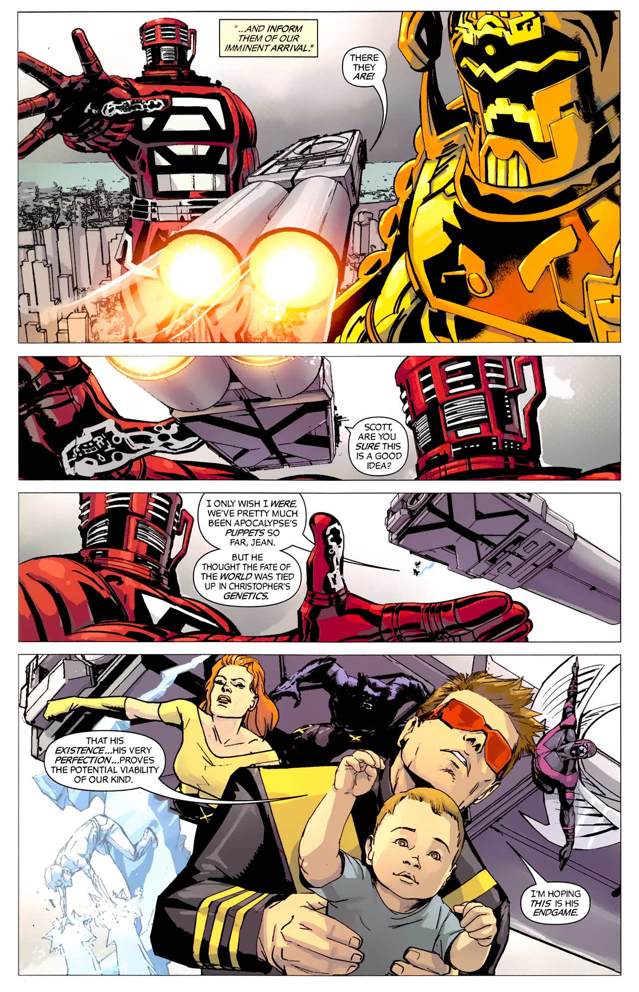 Read online X-Factor Forever comic -  Issue #5 - 10