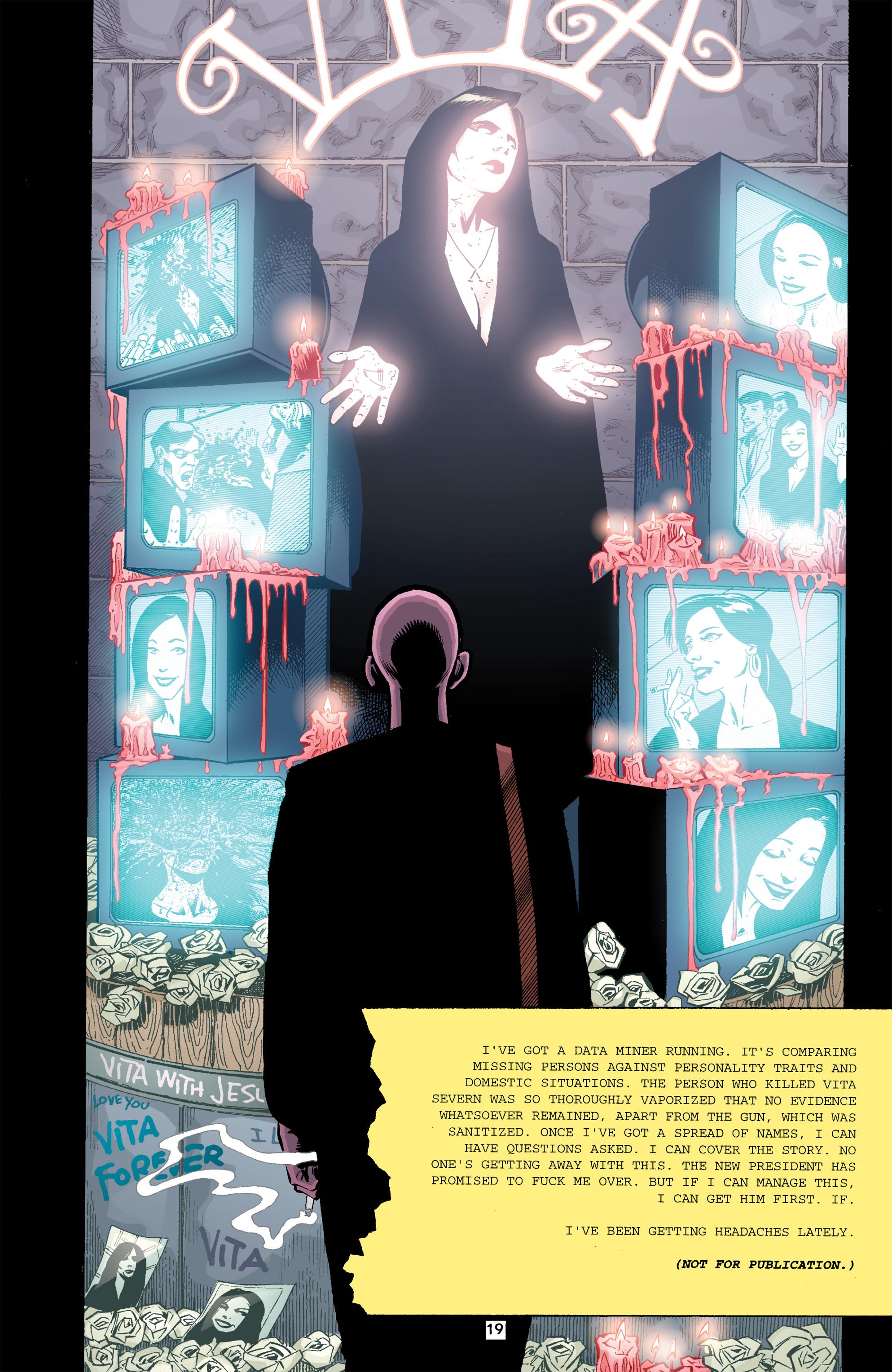 Read online Transmetropolitan comic -  Issue #26 - 20