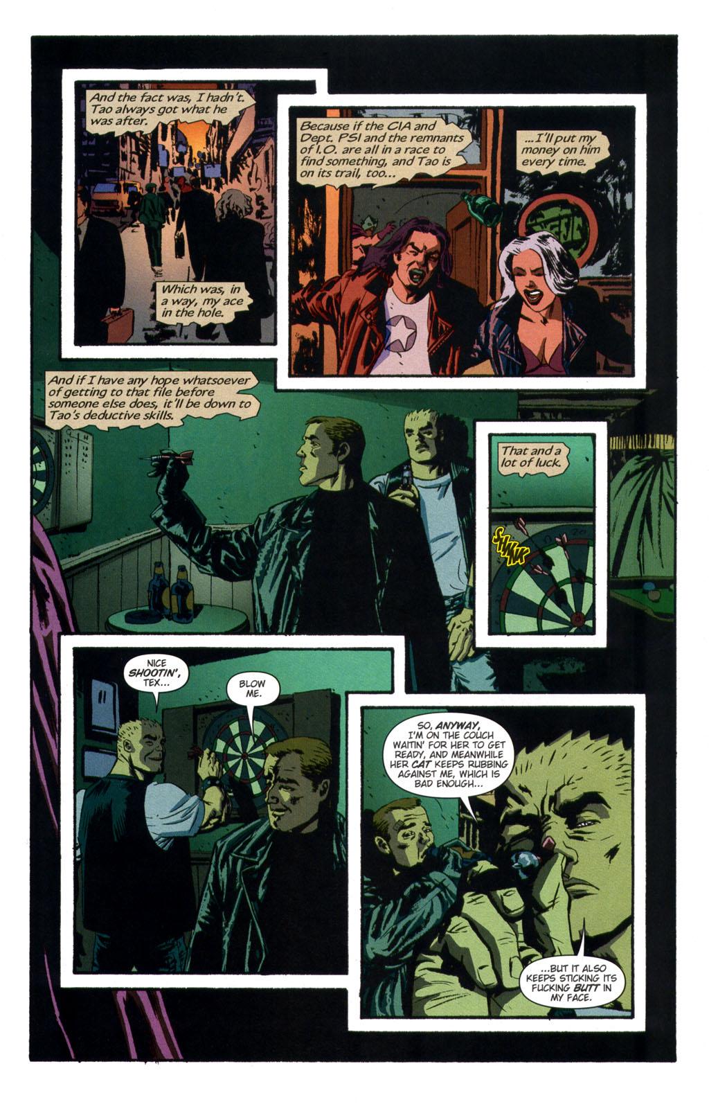 Read online Sleeper comic -  Issue #9 - 11